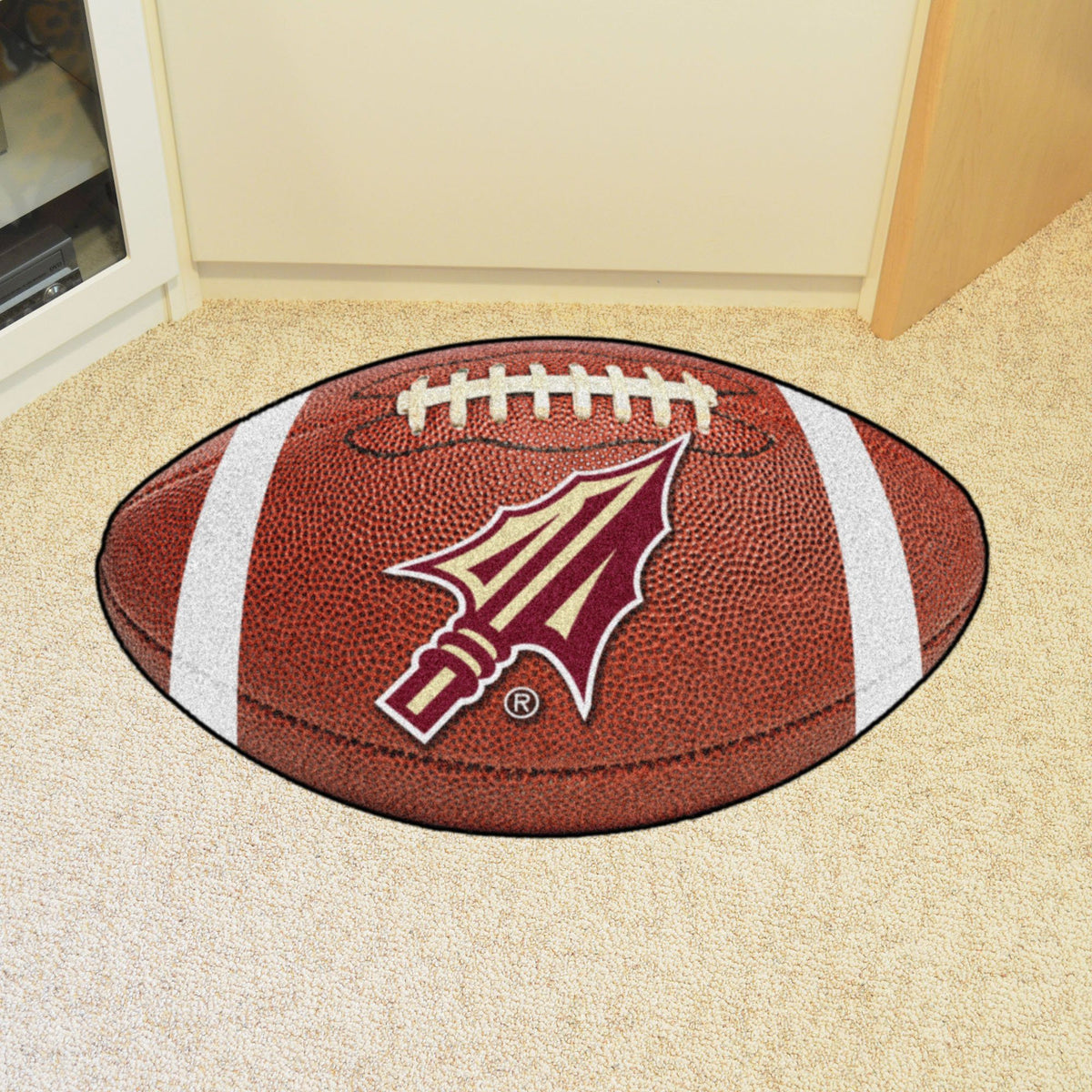 Collegiate - Football Mat: A - K Collegiate Mats, Rectangular Mats, Football Mat, Collegiate, Home Fan Mats Florida State