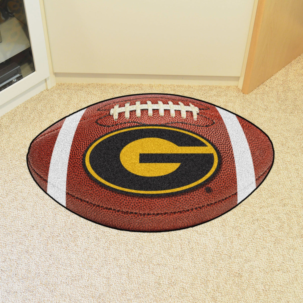 Collegiate - Football Mat: A - K Collegiate Mats, Rectangular Mats, Football Mat, Collegiate, Home Fan Mats Grambling