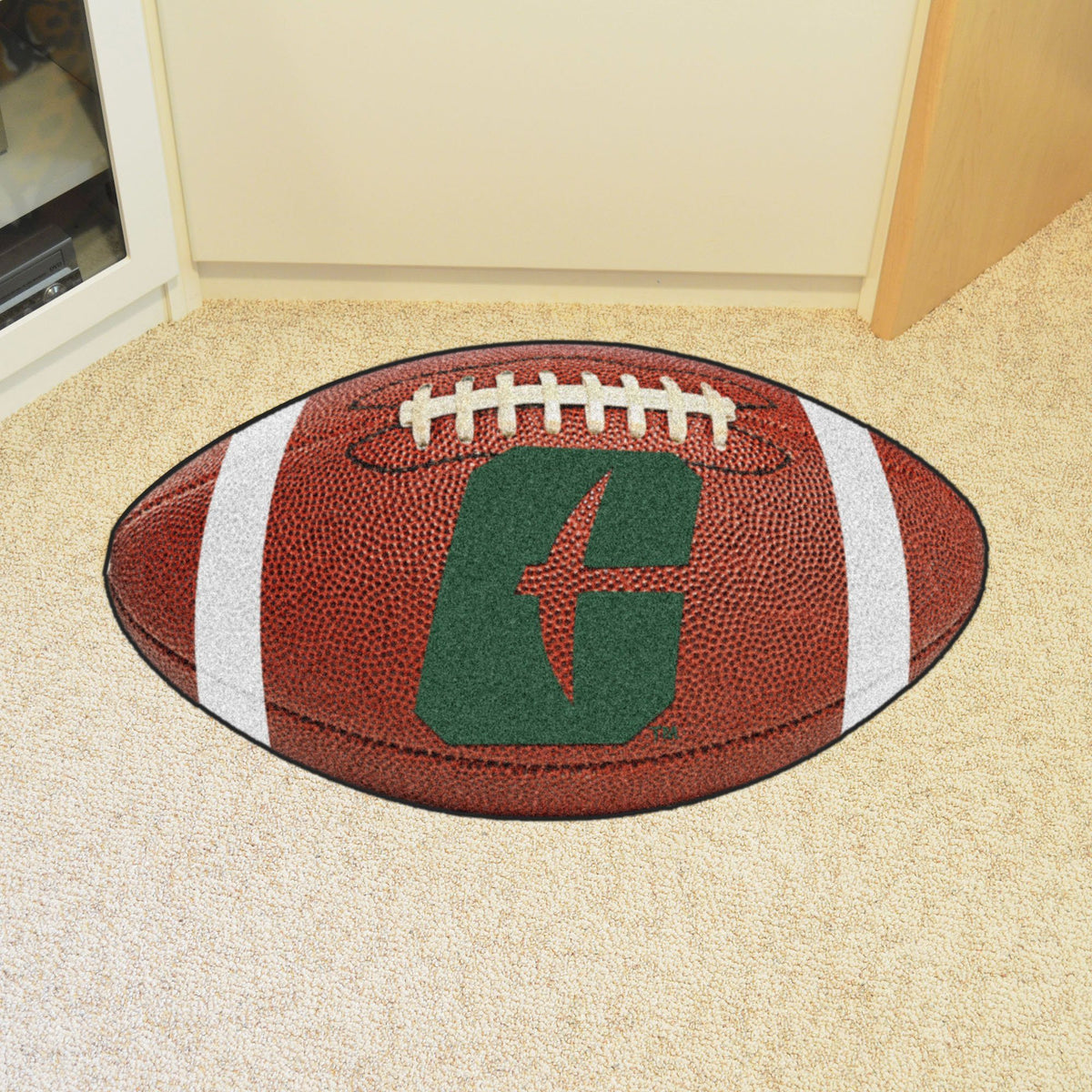 Collegiate - Football Mat: A - K Collegiate Mats, Rectangular Mats, Football Mat, Collegiate, Home Fan Mats Charlotte