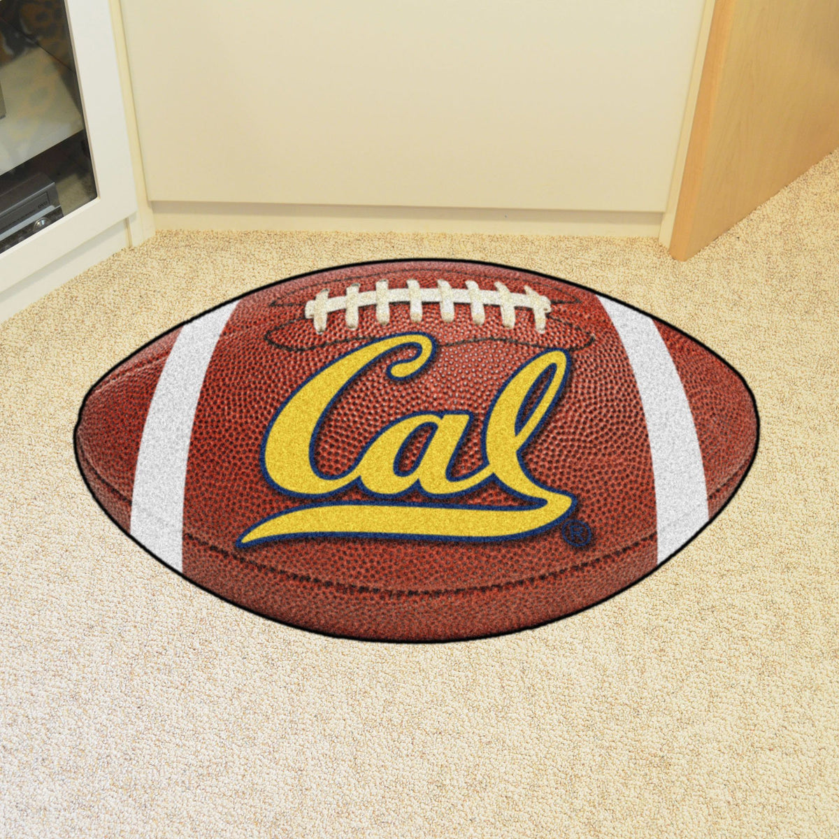 Collegiate - Football Mat: A - K Collegiate Mats, Rectangular Mats, Football Mat, Collegiate, Home Fan Mats Cal