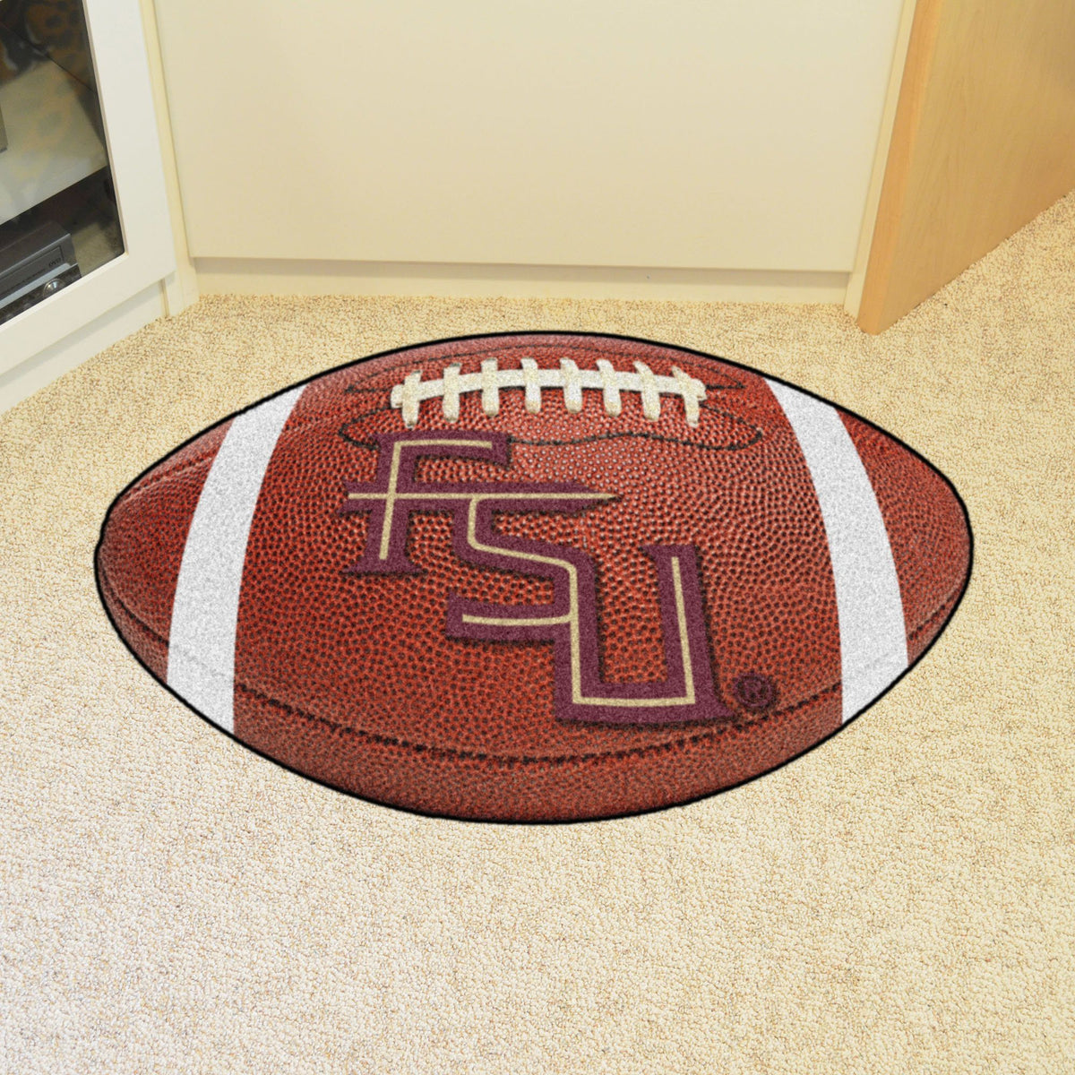 Collegiate - Football Mat: A - K Collegiate Mats, Rectangular Mats, Football Mat, Collegiate, Home Fan Mats Florida State 2
