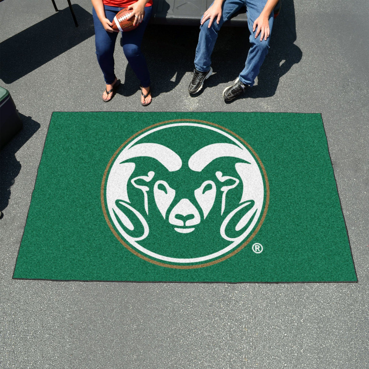Collegiate - Ulti-Mat: A - L Collegiate Mats, Rectangular Mats, Ulti-Mat, Collegiate, Home Fan Mats Colorado State