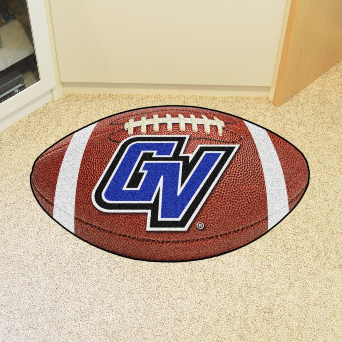 Collegiate - Football Mat: A - K Collegiate Mats, Rectangular Mats, Football Mat, Collegiate, Home Fan Mats Grand Valley State