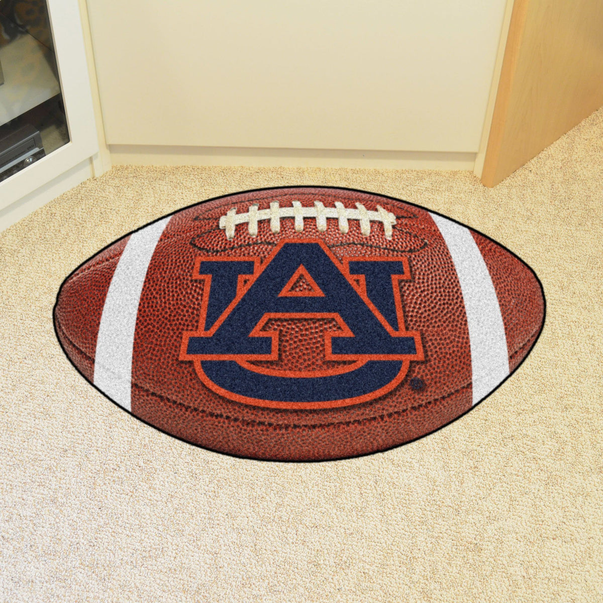 Collegiate - Football Mat: A - K Collegiate Mats, Rectangular Mats, Football Mat, Collegiate, Home Fan Mats Auburn 2