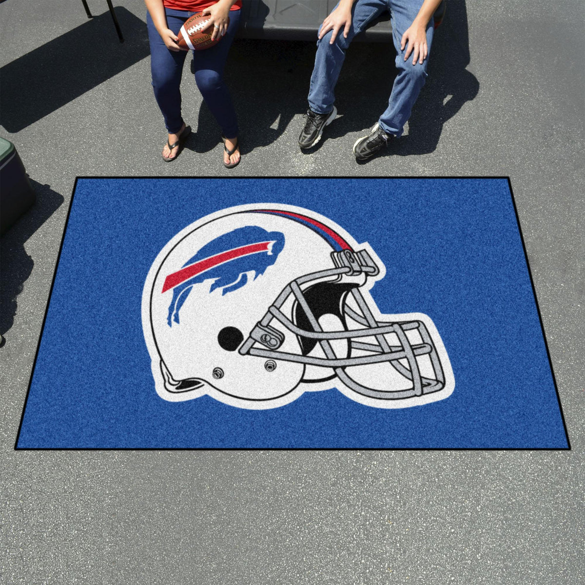 "NFL - Ulti-Mat, 59.5"" x 94.5"" NFL Mats, Rectangular Mats, Ulti-Mat, NFL, Home Fan Mats Buffalo Bills"