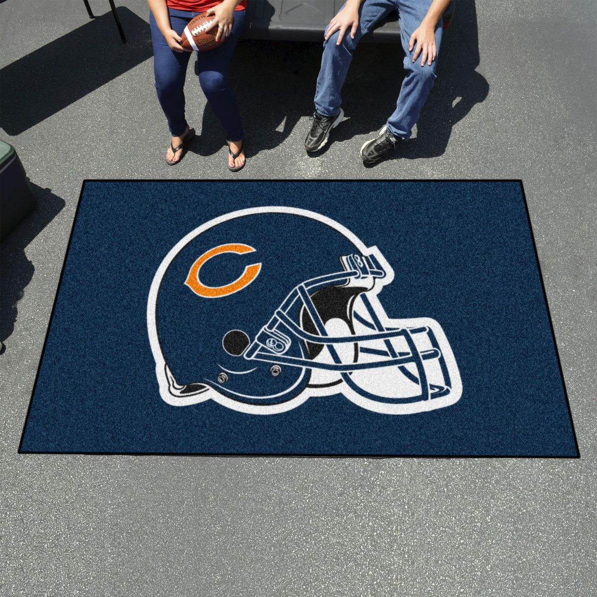 "NFL - Ulti-Mat, 59.5"" x 94.5"" NFL Mats, Rectangular Mats, Ulti-Mat, NFL, Home Fan Mats Chicago Bears"