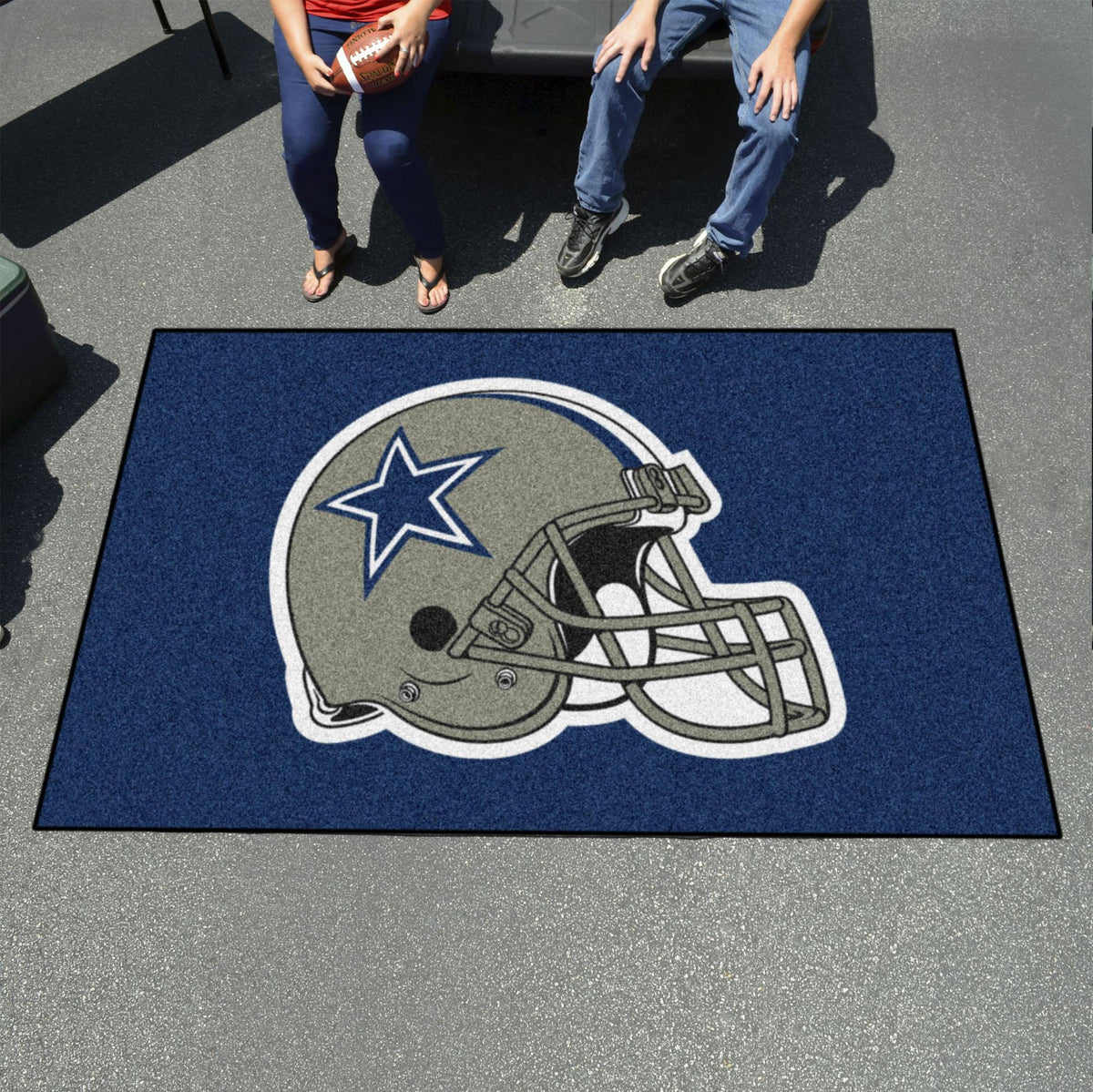 "NFL - Ulti-Mat, 59.5"" x 94.5"" NFL Mats, Rectangular Mats, Ulti-Mat, NFL, Home Fan Mats Dallas Cowboys"