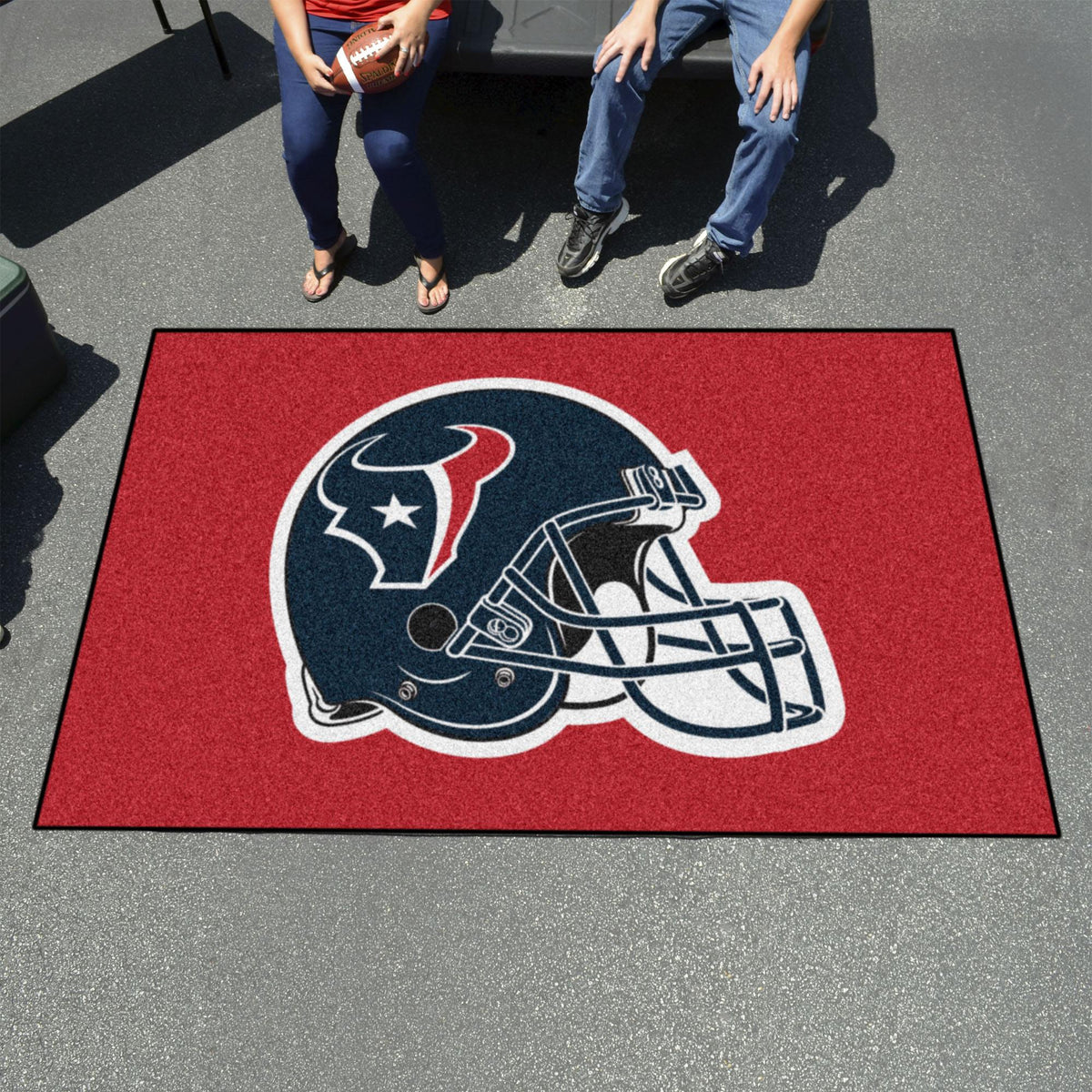 "NFL - Ulti-Mat, 59.5"" x 94.5"" NFL Mats, Rectangular Mats, Ulti-Mat, NFL, Home Fan Mats Houston Texans"