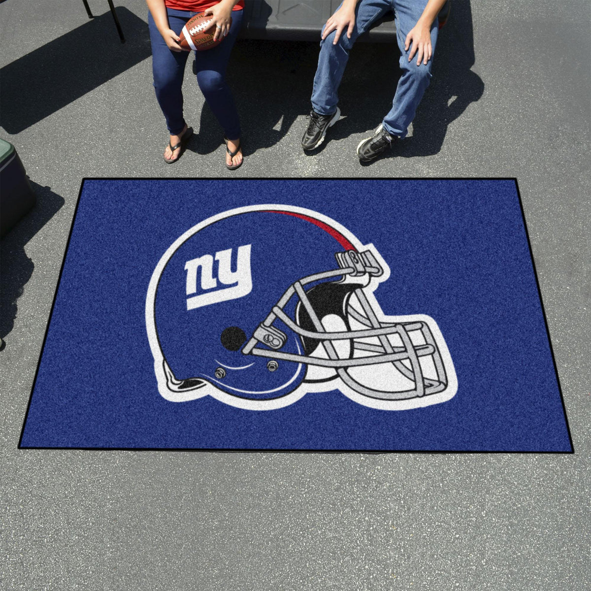 "NFL - Ulti-Mat, 59.5"" x 94.5"" NFL Mats, Rectangular Mats, Ulti-Mat, NFL, Home Fan Mats New York Giants"