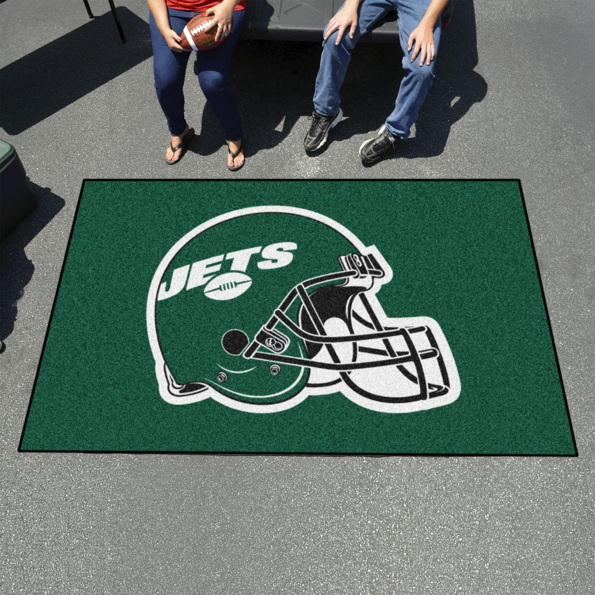 "NFL - Ulti-Mat, 59.5"" x 94.5"" NFL Mats, Rectangular Mats, Ulti-Mat, NFL, Home Fan Mats New York Jets"