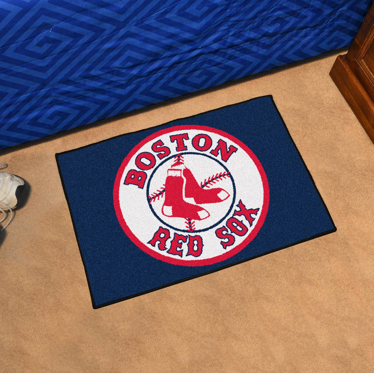 MLB - Starter Mat MLB Mats, Rectangular Mats, Starter Mat, MLB, Home Fan Mats Boston Red Sox