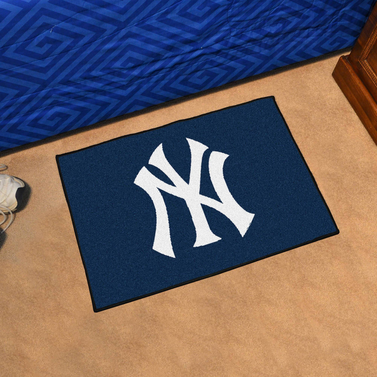 MLB - Starter Mat MLB Mats, Rectangular Mats, Starter Mat, MLB, Home Fan Mats New York Yankees