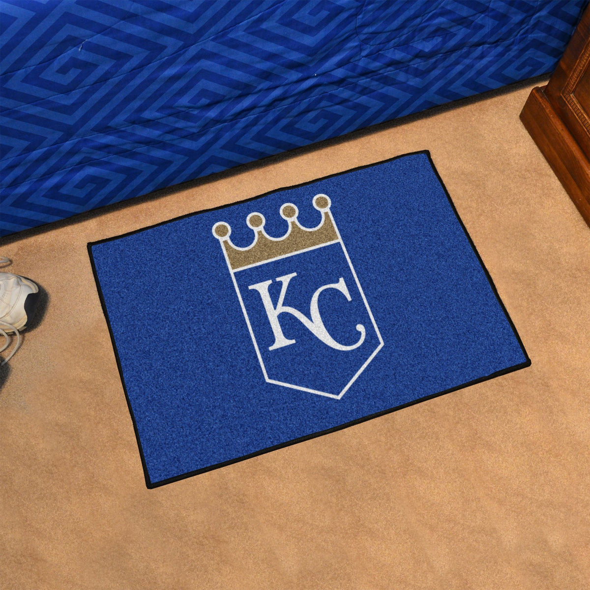 MLB - Starter Mat MLB Mats, Rectangular Mats, Starter Mat, MLB, Home Fan Mats Kansas City Royals