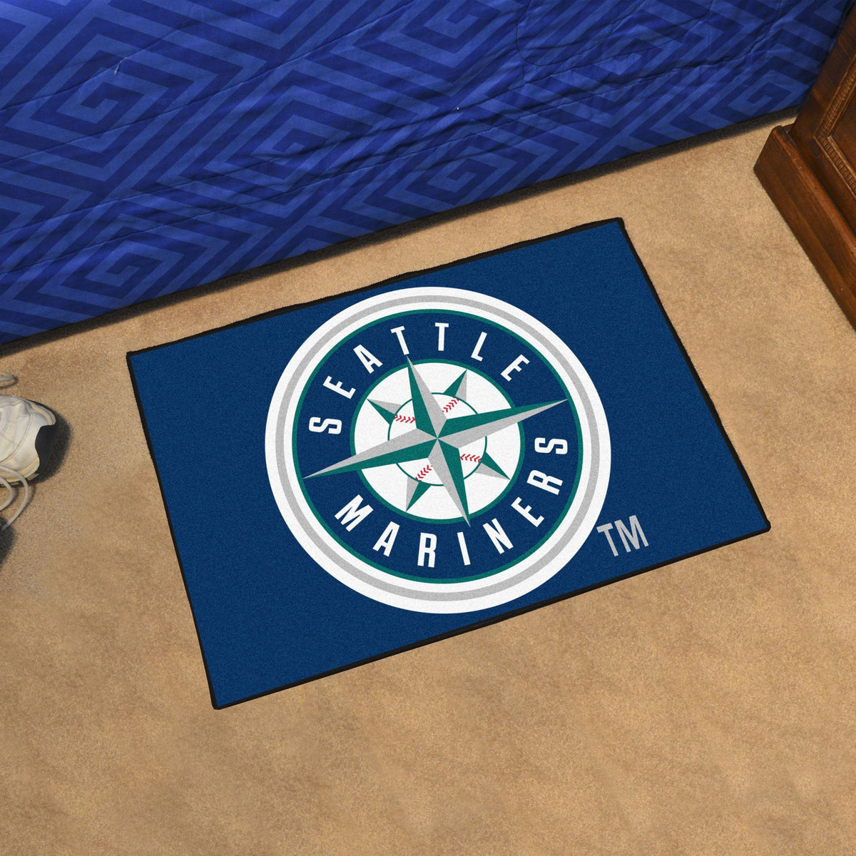 MLB - Starter Mat MLB Mats, Rectangular Mats, Starter Mat, MLB, Home Fan Mats Seattle Mariners