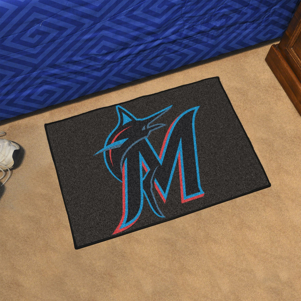 MLB - Starter Mat MLB Mats, Rectangular Mats, Starter Mat, MLB, Home Fan Mats Miami Marlins