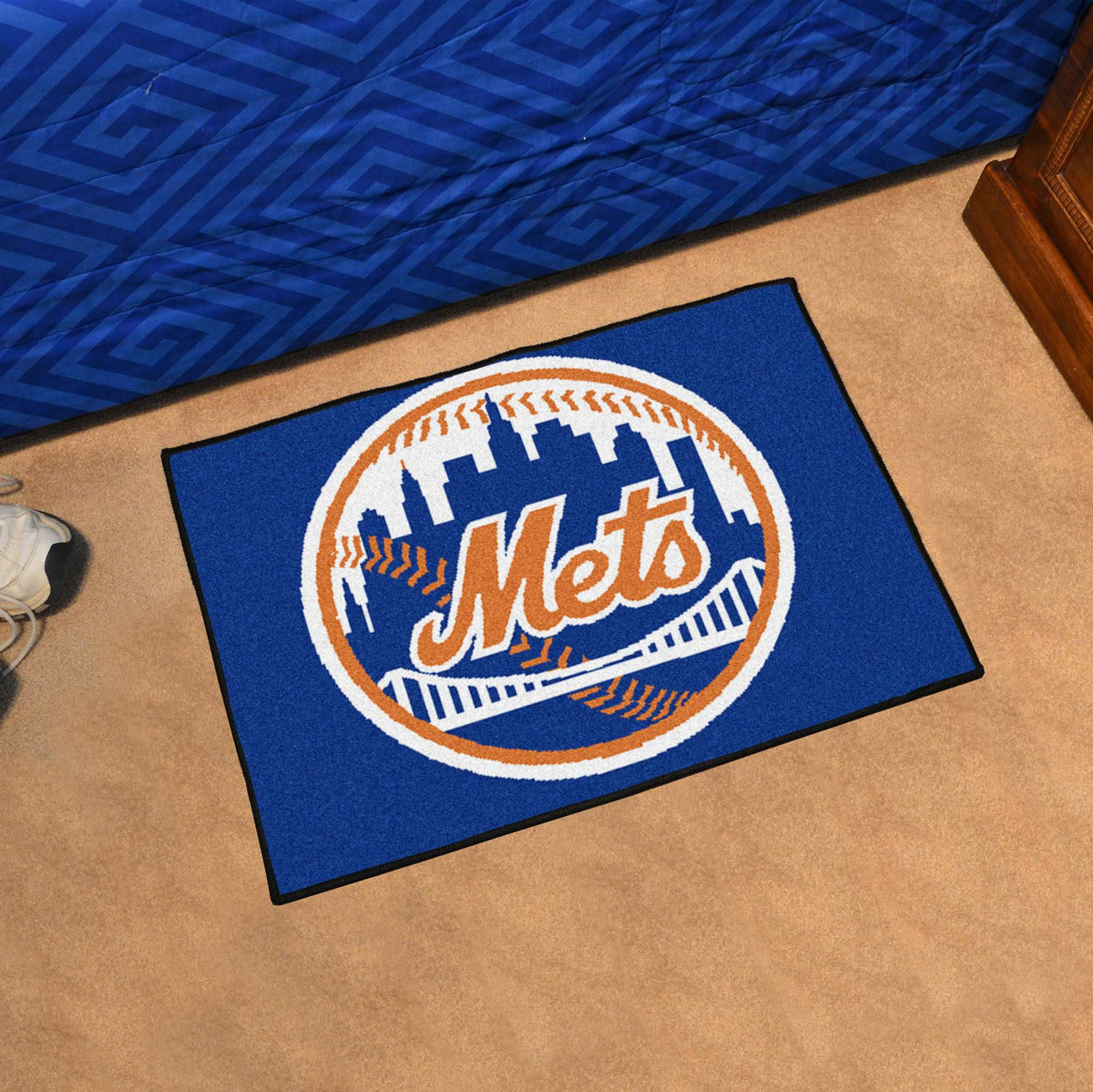 MLB - Starter Mat MLB Mats, Rectangular Mats, Starter Mat, MLB, Home Fan Mats New York Mets