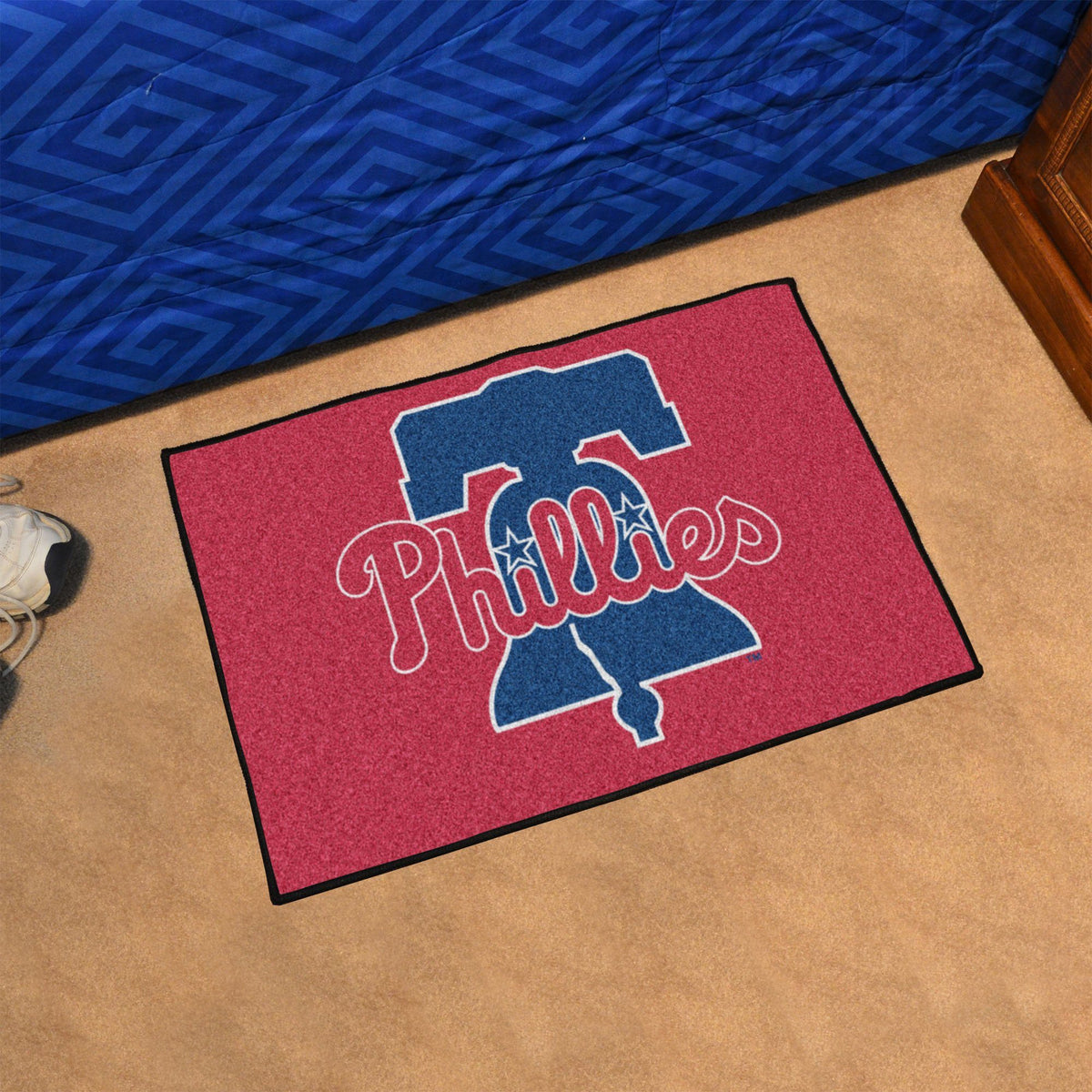 MLB - Starter Mat MLB Mats, Rectangular Mats, Starter Mat, MLB, Home Fan Mats Philadelphia Phillies