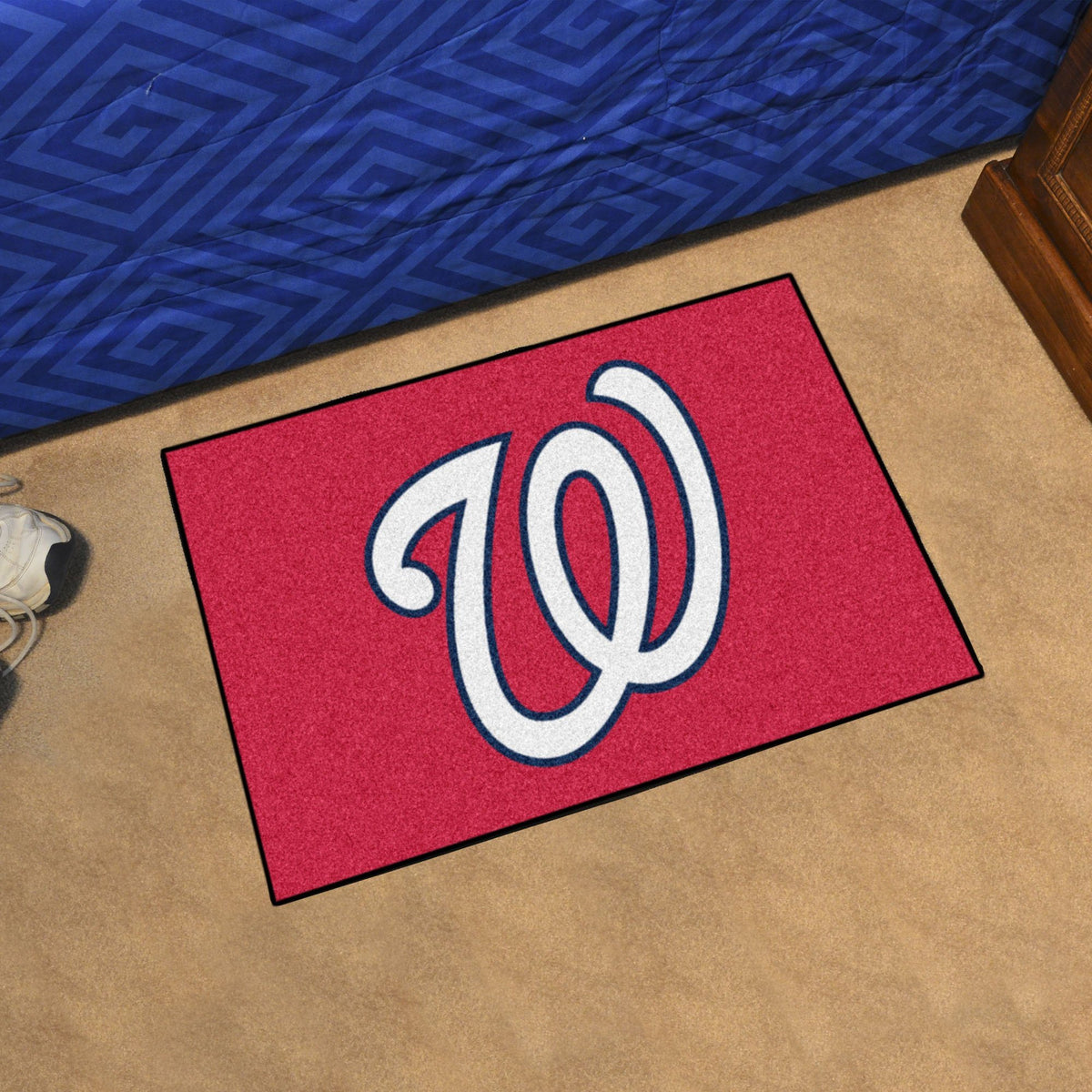 MLB - Starter Mat MLB Mats, Rectangular Mats, Starter Mat, MLB, Home Fan Mats Washington Nationals