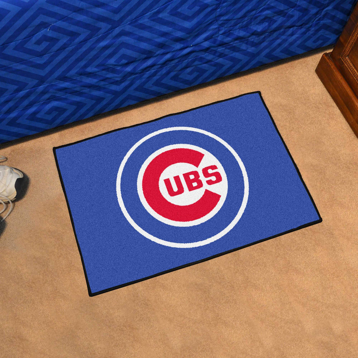 MLB - Starter Mat MLB Mats, Rectangular Mats, Starter Mat, MLB, Home Fan Mats Chicago Cubs