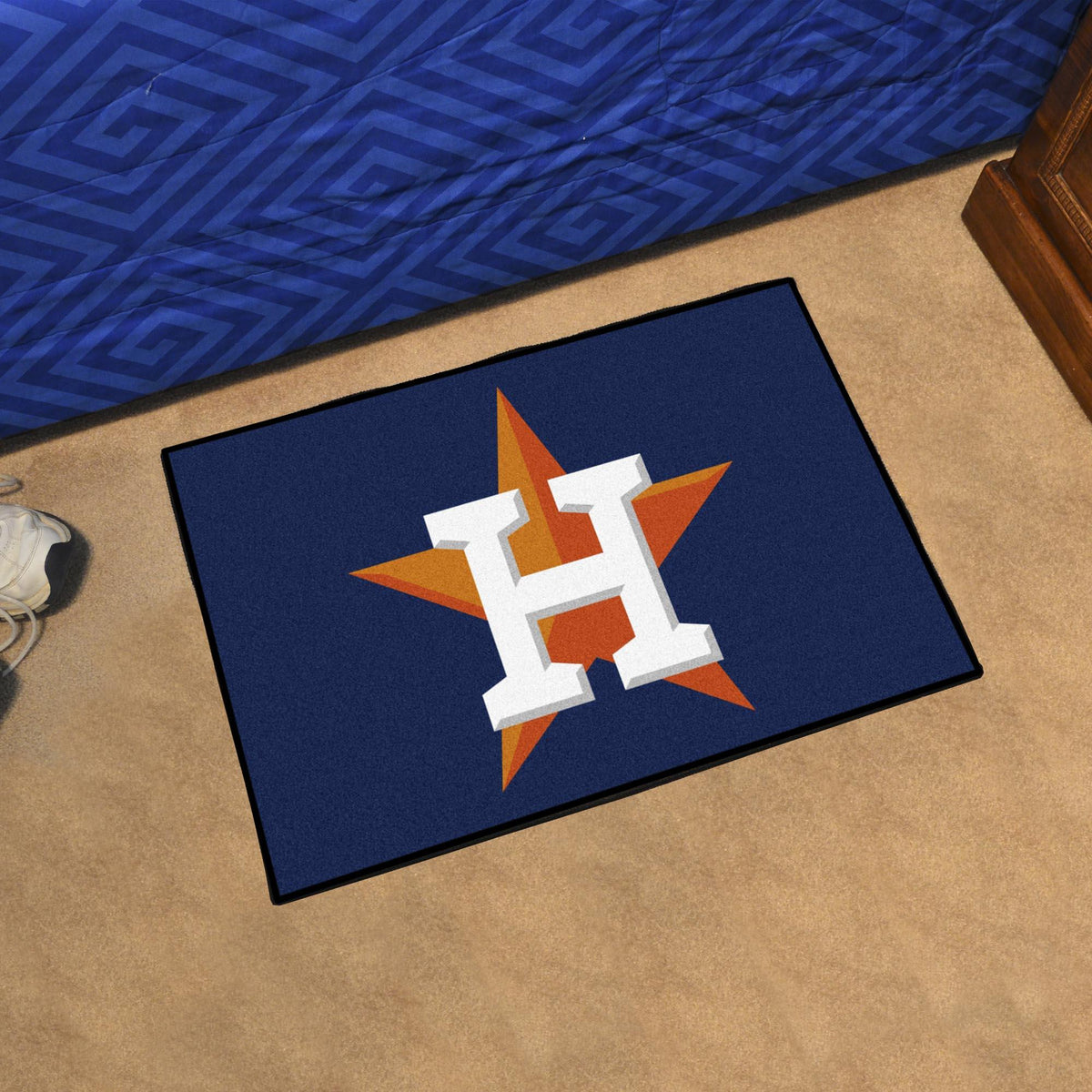 MLB - Starter Mat MLB Mats, Rectangular Mats, Starter Mat, MLB, Home Fan Mats Houston Astros