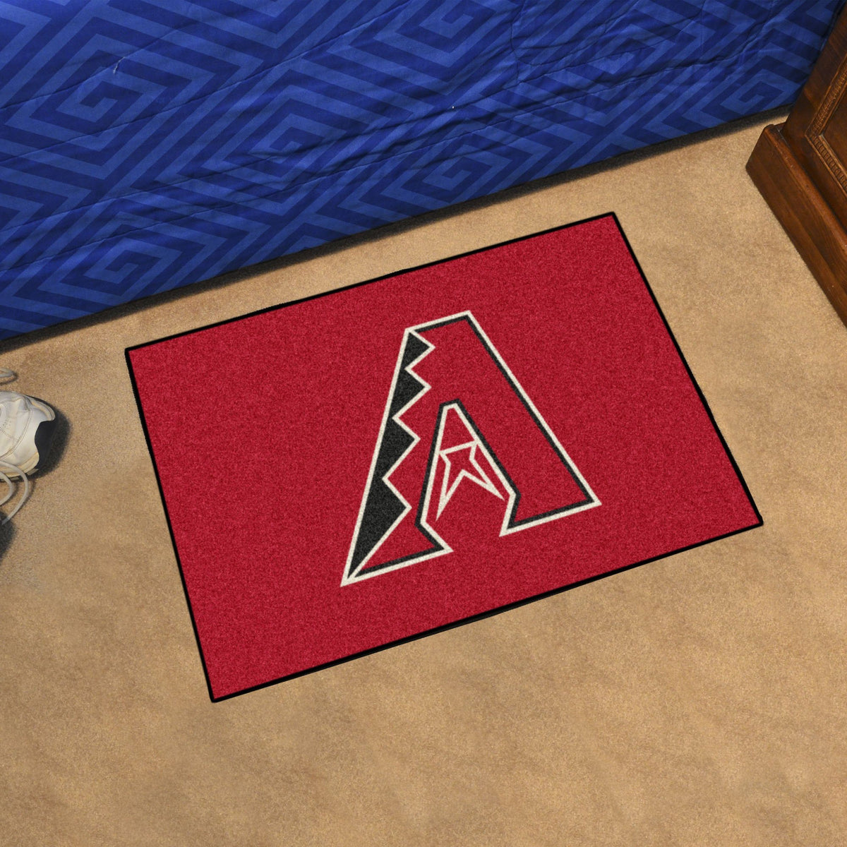 MLB - Starter Mat MLB Mats, Rectangular Mats, Starter Mat, MLB, Home Fan Mats Arizona Diamondbacks