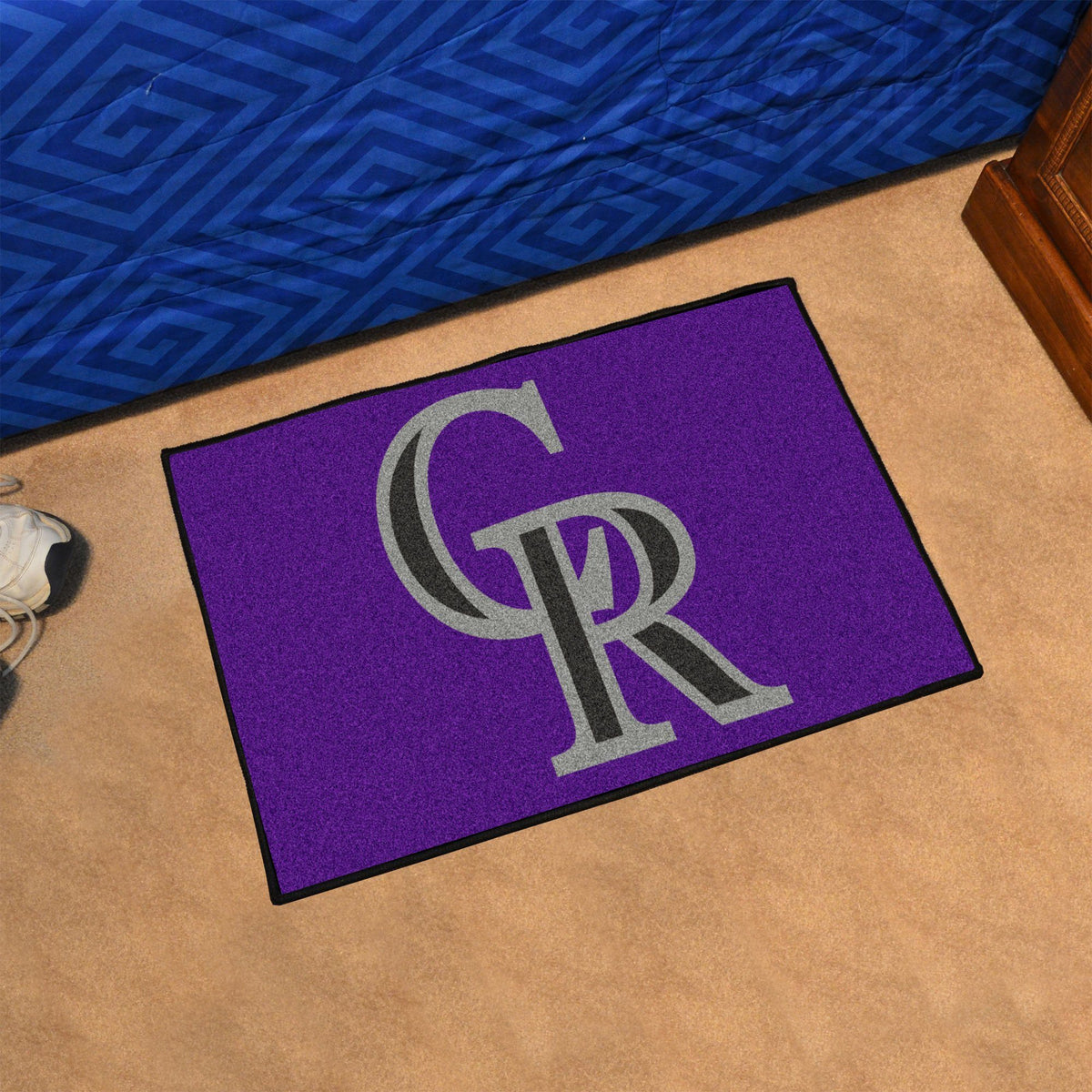 MLB - Starter Mat MLB Mats, Rectangular Mats, Starter Mat, MLB, Home Fan Mats Colorado Rockies