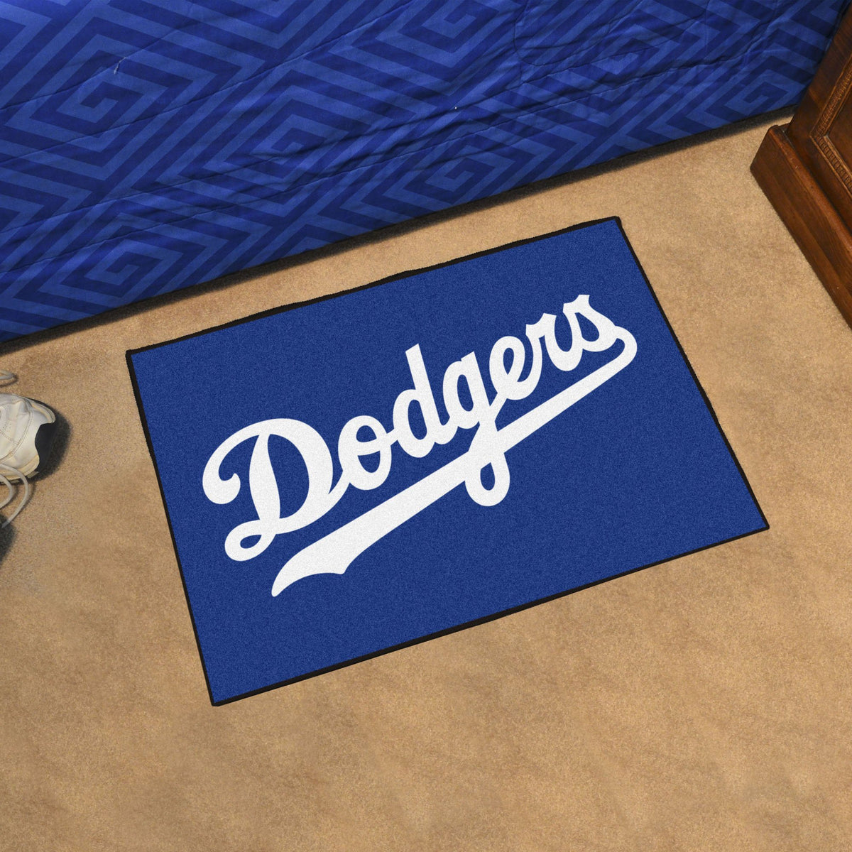 MLB - Starter Mat MLB Mats, Rectangular Mats, Starter Mat, MLB, Home Fan Mats Los Angeles Dodgers 2
