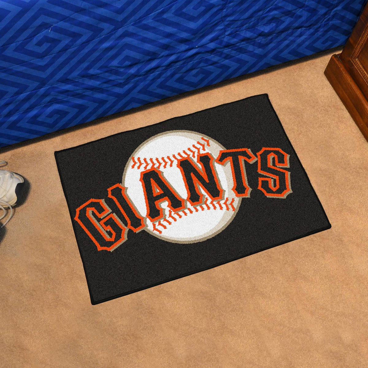 MLB - Starter Mat MLB Mats, Rectangular Mats, Starter Mat, MLB, Home Fan Mats San Francisco Giants