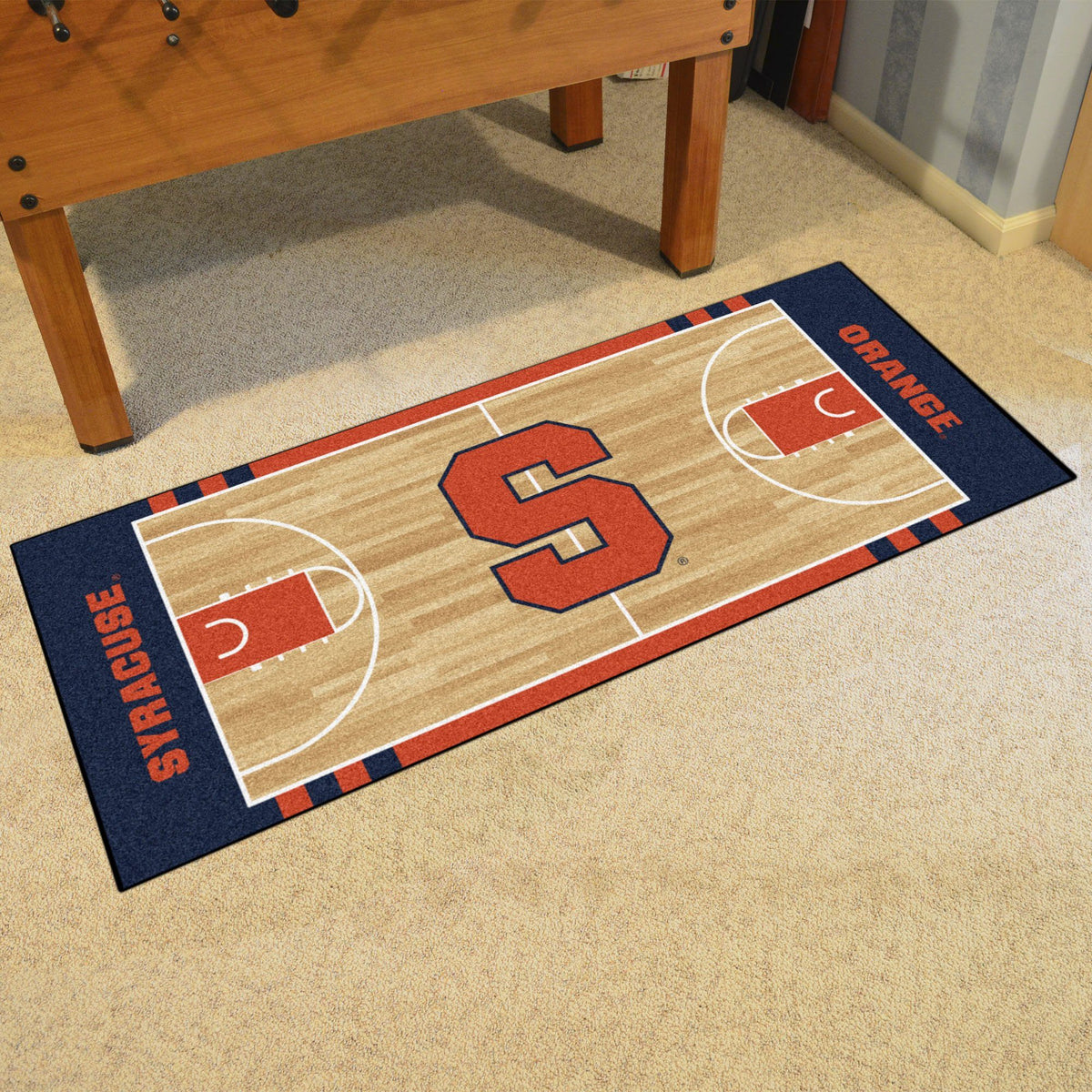 Collegiate - NCAA Basketball Runner Collegiate Mats, Rectangular Mats, NCAA Basketball Runner, Collegiate, Home Fan Mats Syracuse