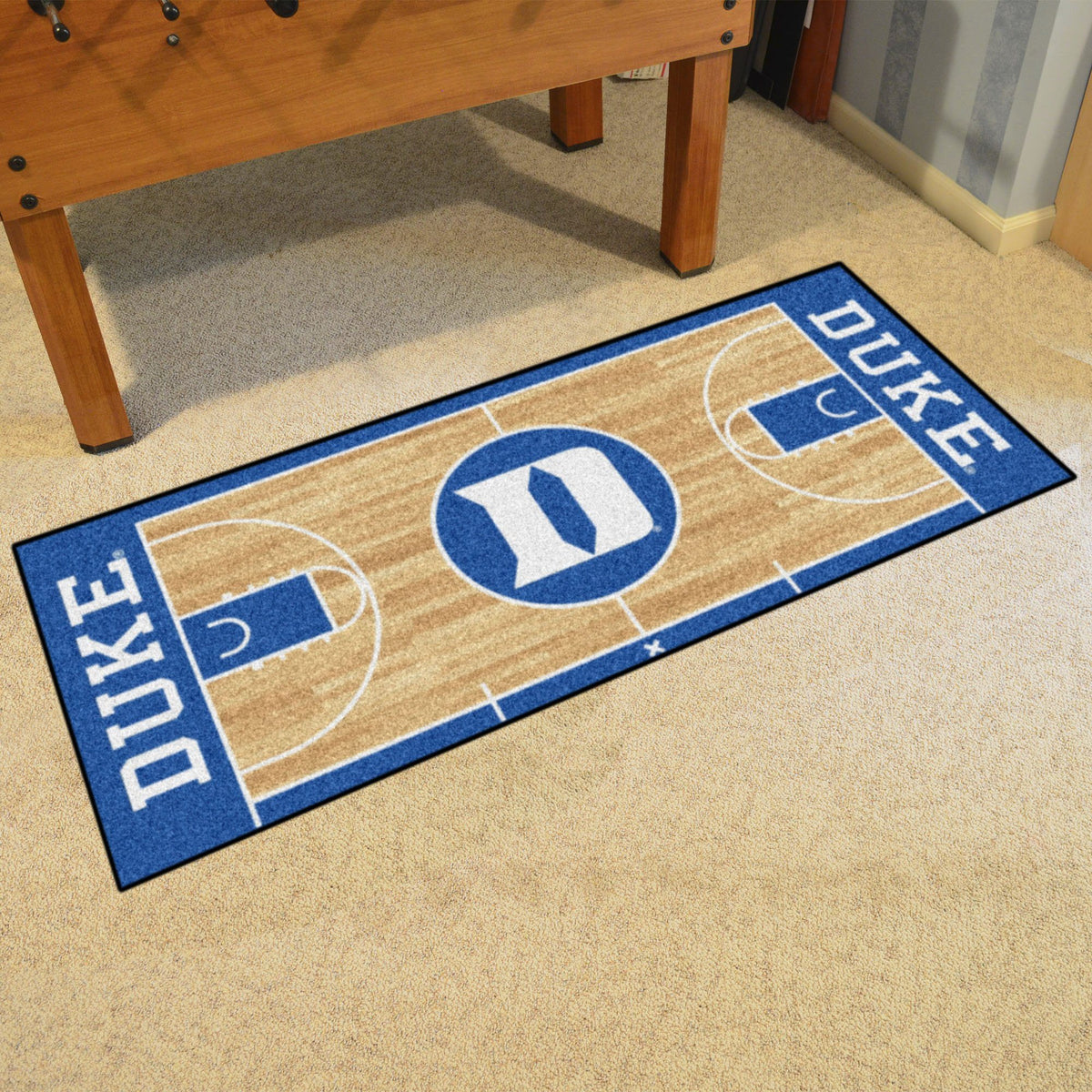 Collegiate - NCAA Basketball Runner Collegiate Mats, Rectangular Mats, NCAA Basketball Runner, Collegiate, Home Fan Mats Duke