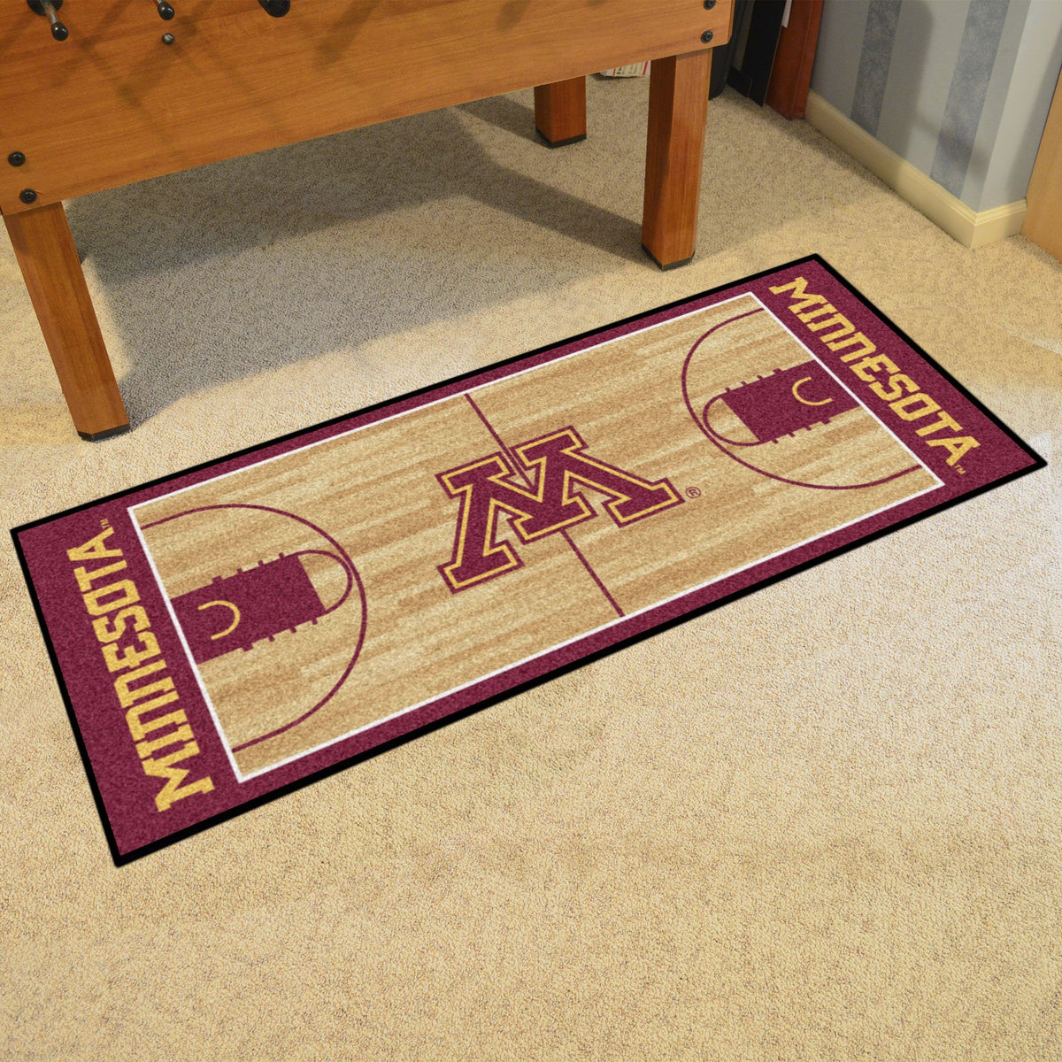 Collegiate - NCAA Basketball Runner Collegiate Mats, Rectangular Mats, NCAA Basketball Runner, Collegiate, Home Fan Mats Minnesota
