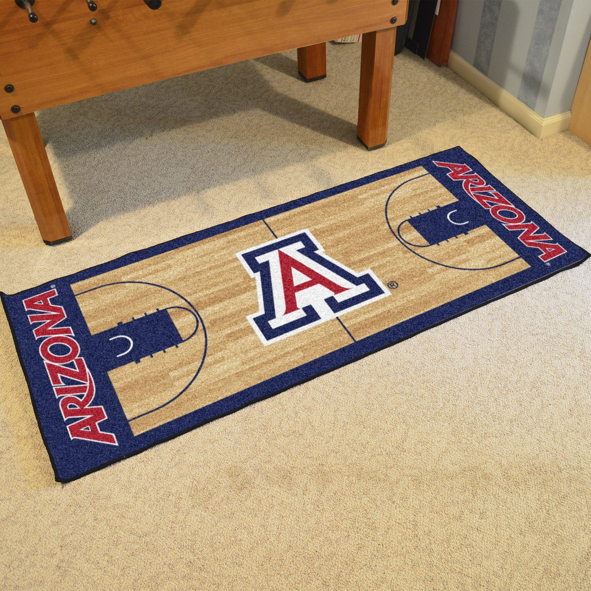 Collegiate - NCAA Basketball Runner Collegiate Mats, Rectangular Mats, NCAA Basketball Runner, Collegiate, Home Fan Mats Arizona