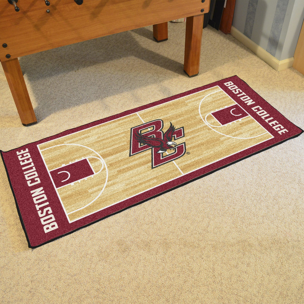 Collegiate - NCAA Basketball Runner Collegiate Mats, Rectangular Mats, NCAA Basketball Runner, Collegiate, Home Fan Mats Boston College