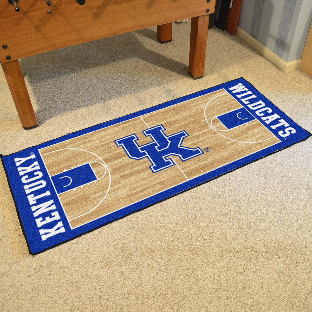 Collegiate - NCAA Basketball Runner Collegiate Mats, Rectangular Mats, NCAA Basketball Runner, Collegiate, Home Fan Mats Kentucky