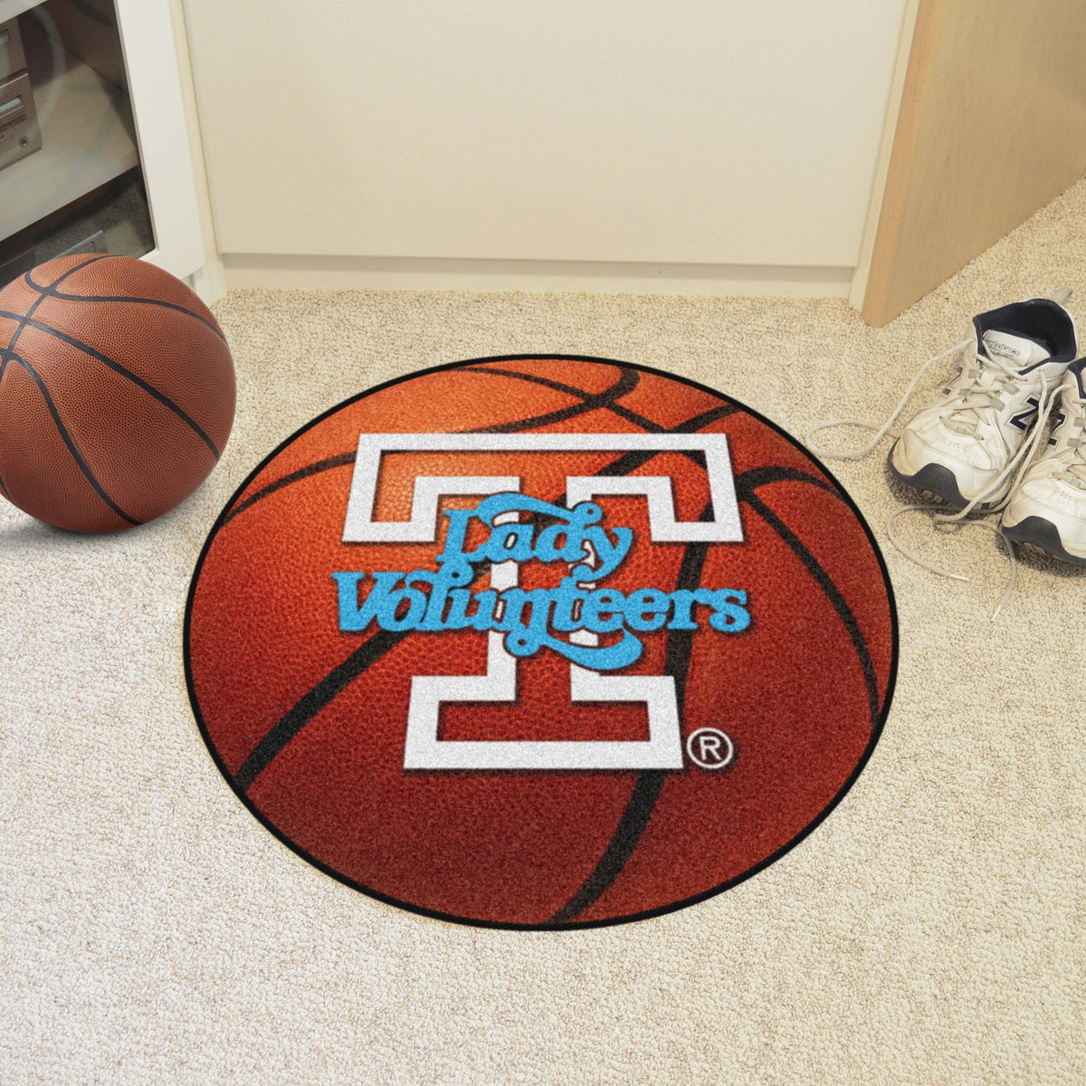 Collegiate - Basketball Mat: T - Z Collegiate Mats, Rectangular Mats, Basketball Mat, Collegiate, Home Fan Mats Tennessee 2