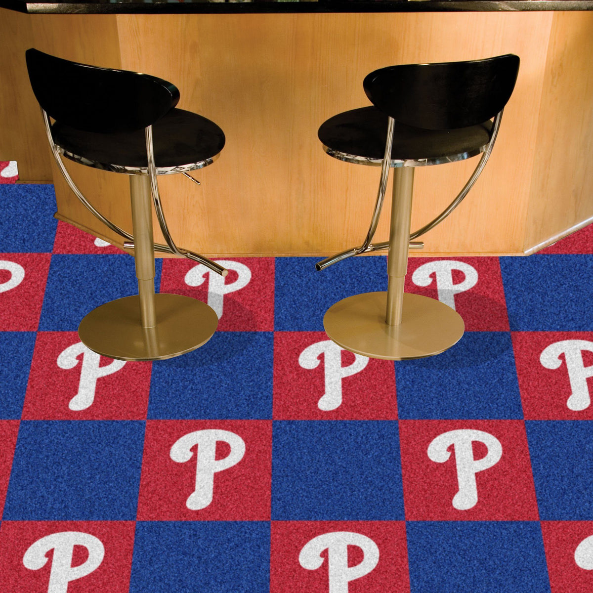 MLB - Team Carpet Tiles MLB Mats, Carpet Tile Flooring, Team Carpet Tiles, MLB, Home Fan Mats Philadelphia Phillies