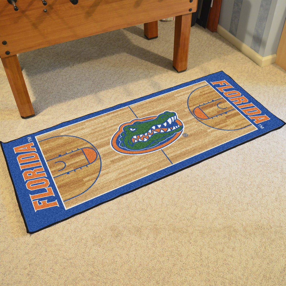 Collegiate - NCAA Basketball Runner Collegiate Mats, Rectangular Mats, NCAA Basketball Runner, Collegiate, Home Fan Mats Florida