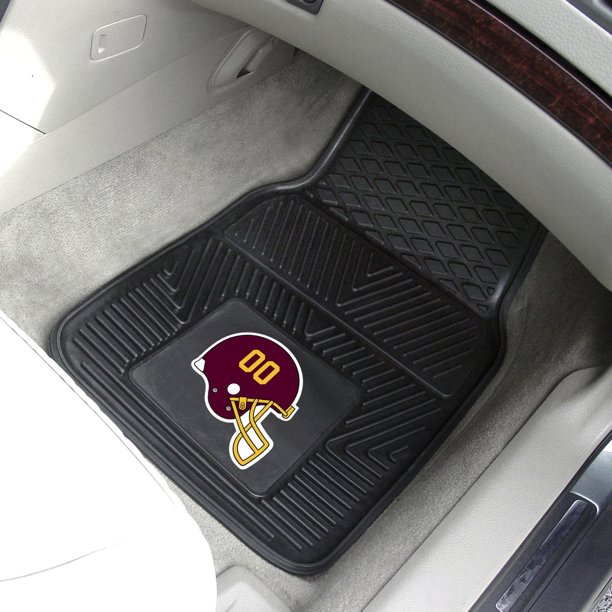 NFL - 2-pc Vinyl Car Mat Set NFL Mats, Front Car Mats, 2-pc Vinyl Car Mat Set, NFL, Auto Fan Mats Washington Redskins