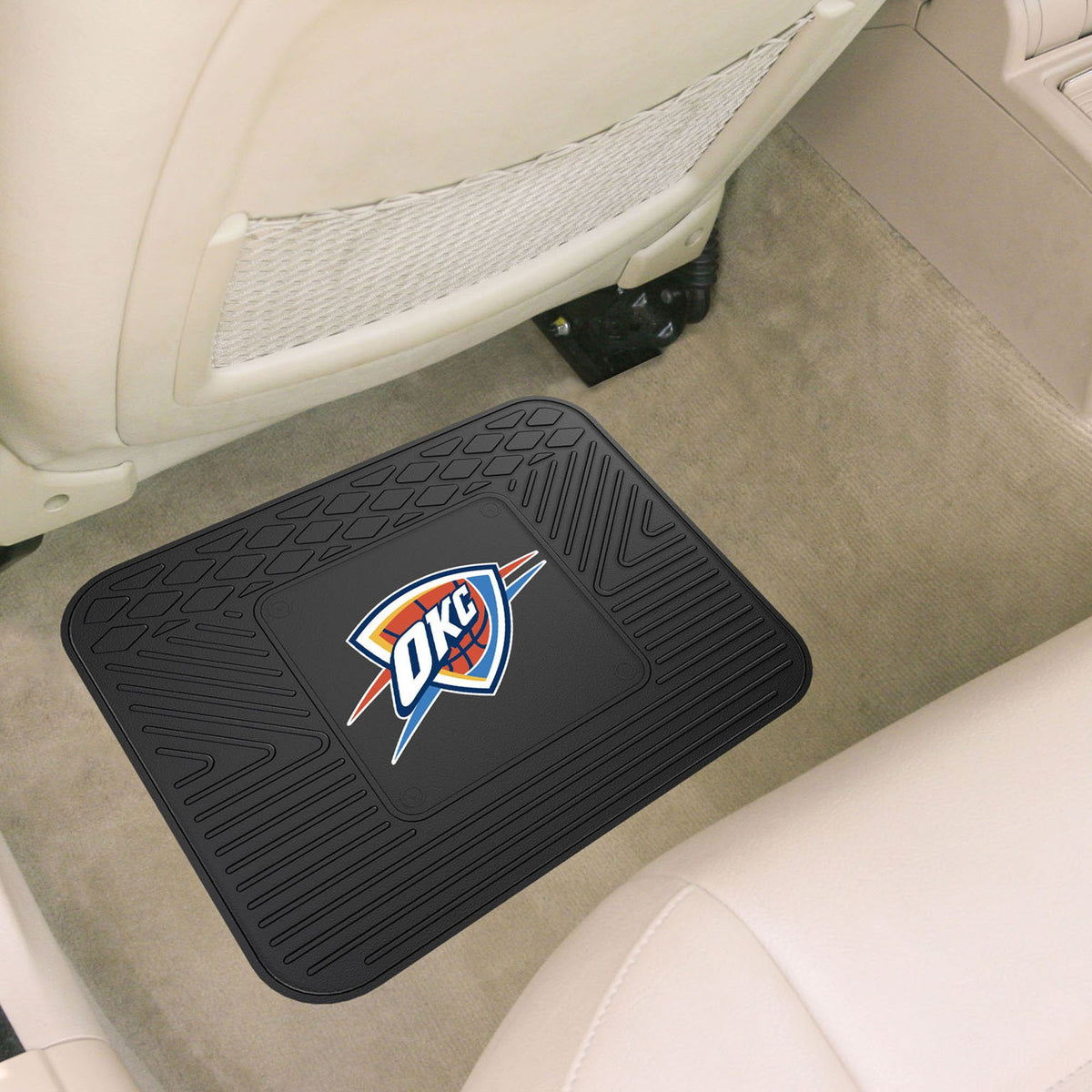 NBA - Utility Mat NBA Mats, Rear Car Mats, Utility Mat, NBA, Auto Fan Mats Oklahoma City Thunder