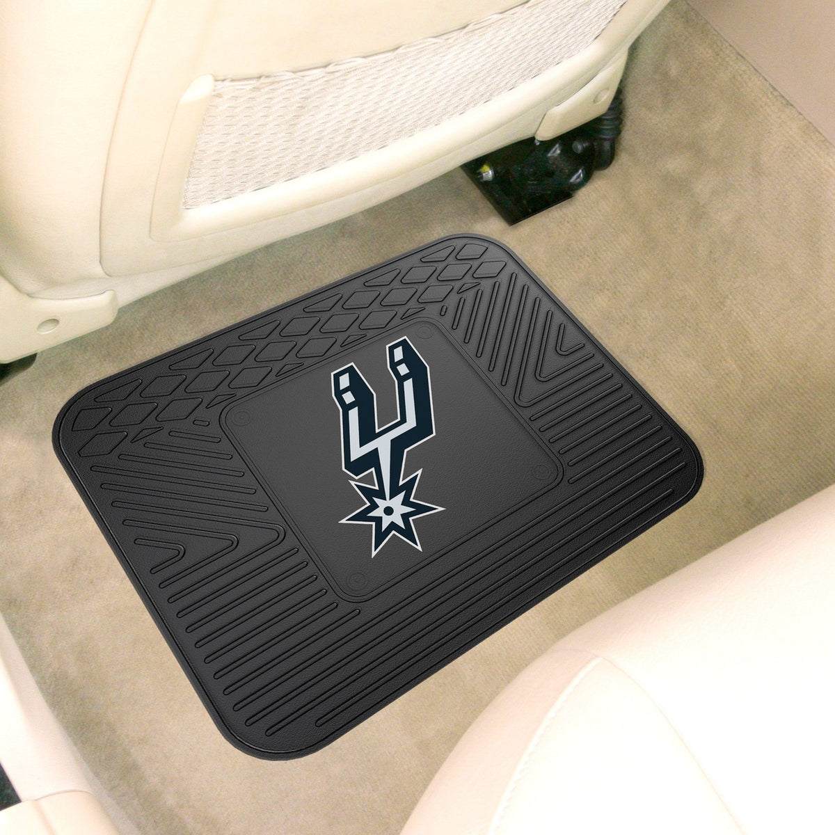 NBA - Utility Mat NBA Mats, Rear Car Mats, Utility Mat, NBA, Auto Fan Mats San Antonio Spurs