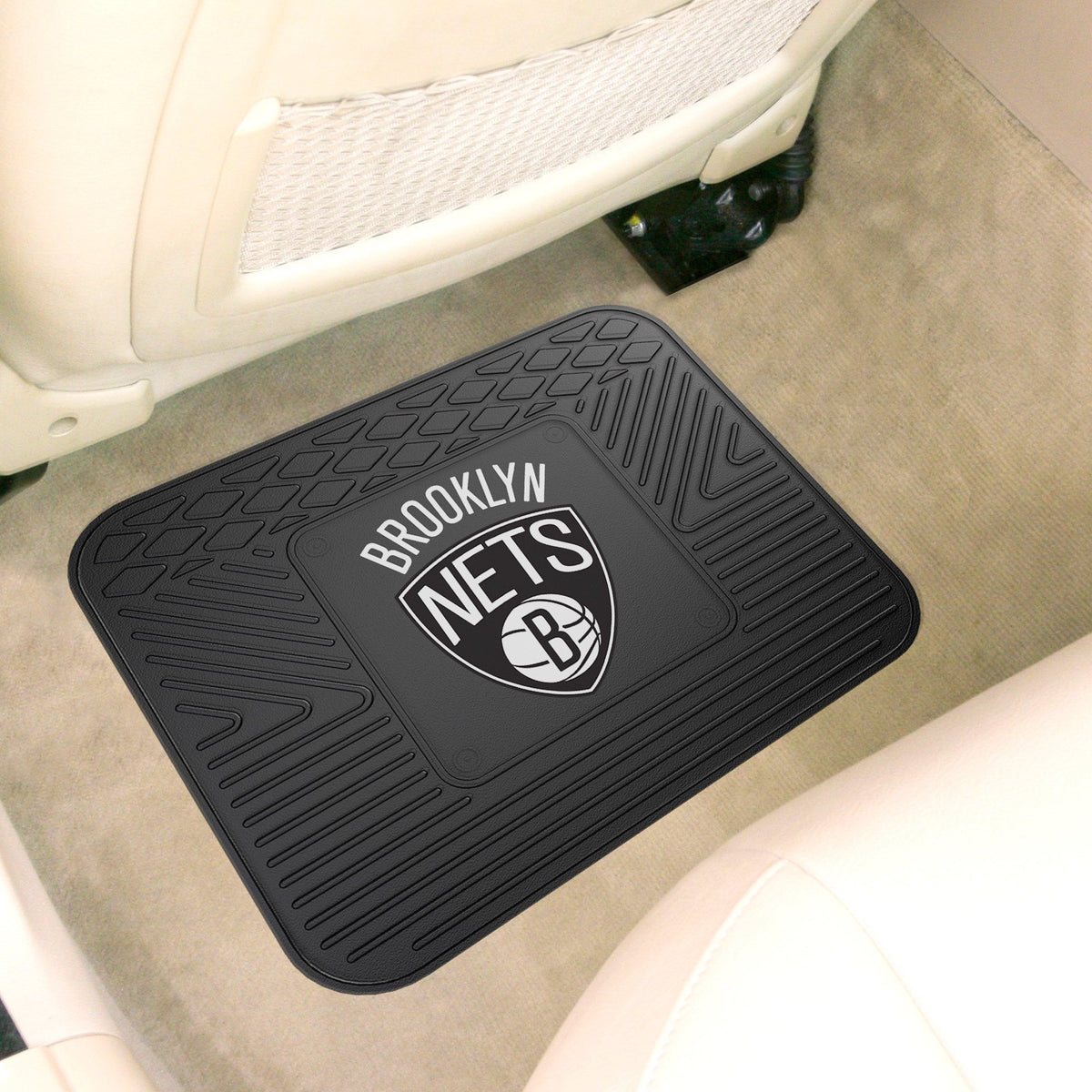 NBA - Utility Mat NBA Mats, Rear Car Mats, Utility Mat, NBA, Auto Fan Mats Brooklyn Nets