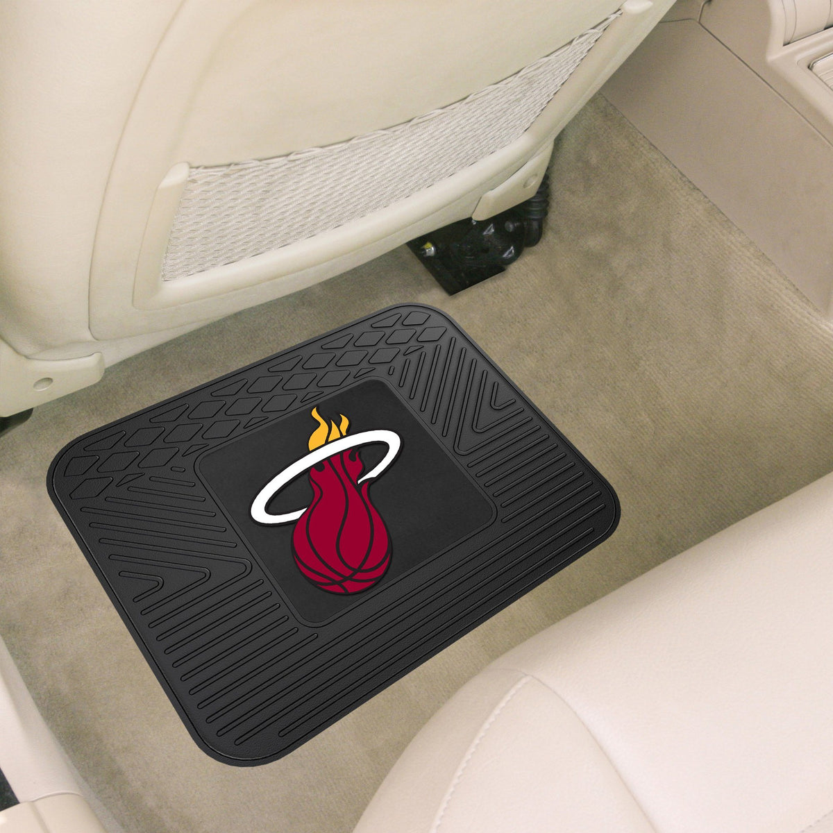 NBA - Utility Mat NBA Mats, Rear Car Mats, Utility Mat, NBA, Auto Fan Mats Miami Heat