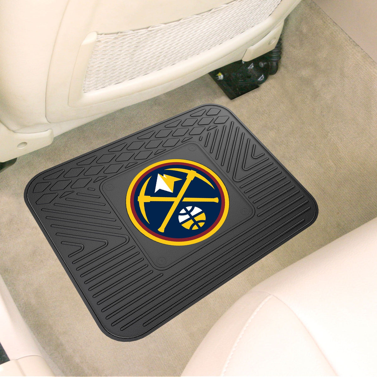 NBA - Utility Mat NBA Mats, Rear Car Mats, Utility Mat, NBA, Auto Fan Mats Denver Nuggets