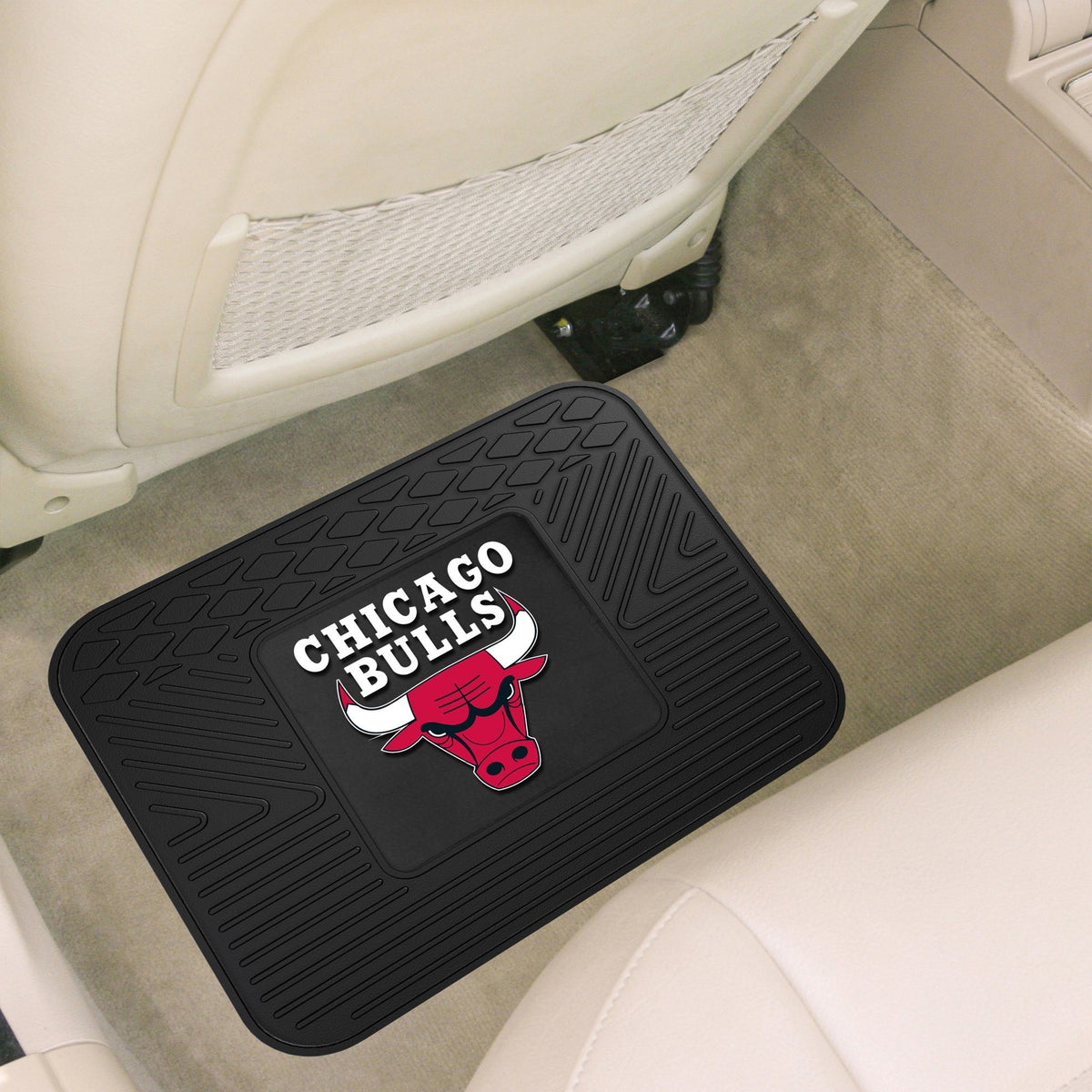 NBA - Utility Mat NBA Mats, Rear Car Mats, Utility Mat, NBA, Auto Fan Mats Chicago Bulls