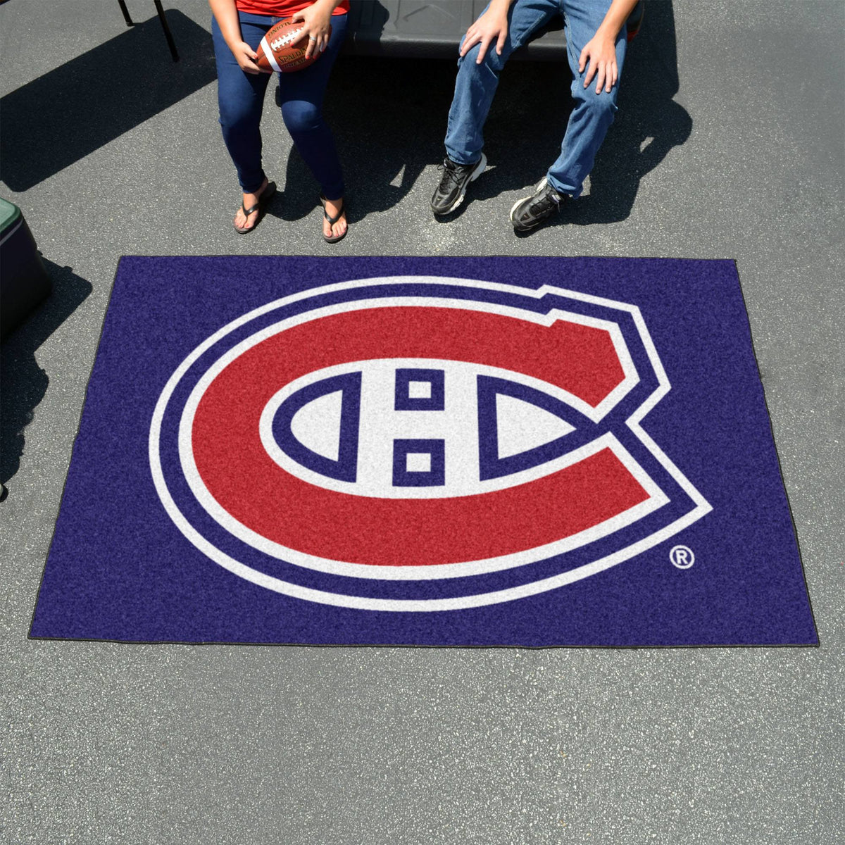 NHL - Ulti-Mat NHL Mats, Rectangular Mats, Ulti-Mat, NHL, Home Fan Mats Montreal Canadiens