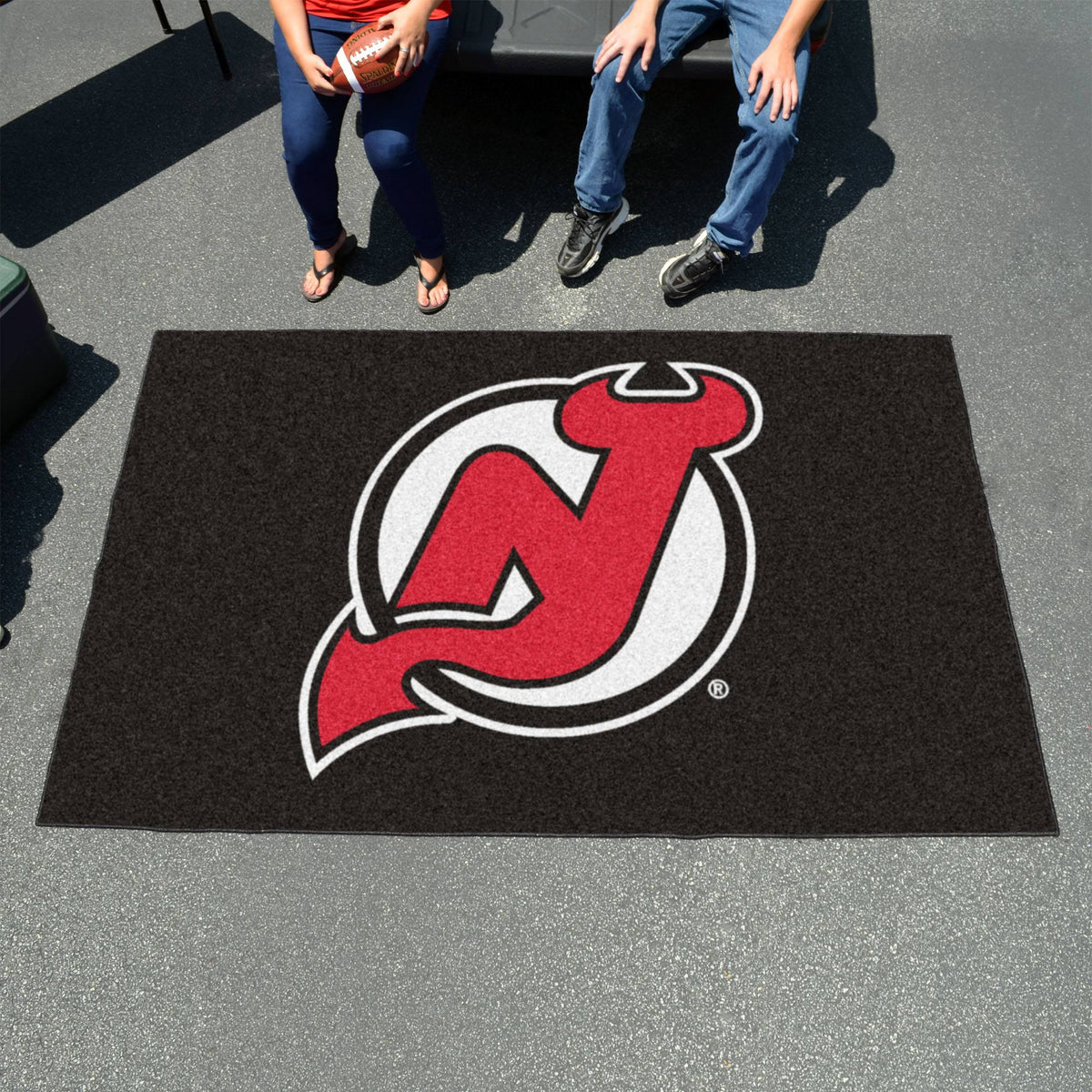 NHL - Ulti-Mat NHL Mats, Rectangular Mats, Ulti-Mat, NHL, Home Fan Mats New Jersey Devils