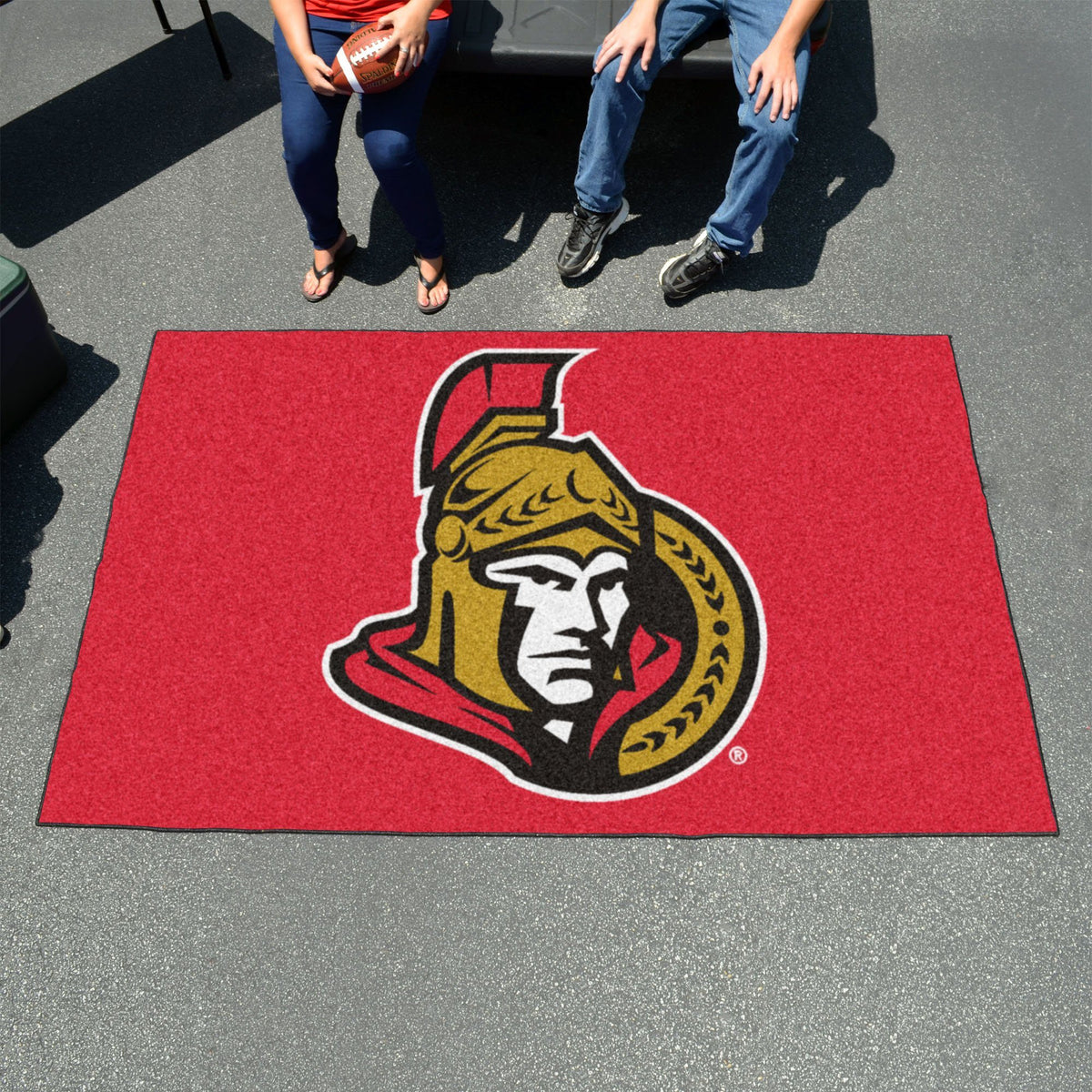 NHL - Ulti-Mat NHL Mats, Rectangular Mats, Ulti-Mat, NHL, Home Fan Mats Ottawa Senators
