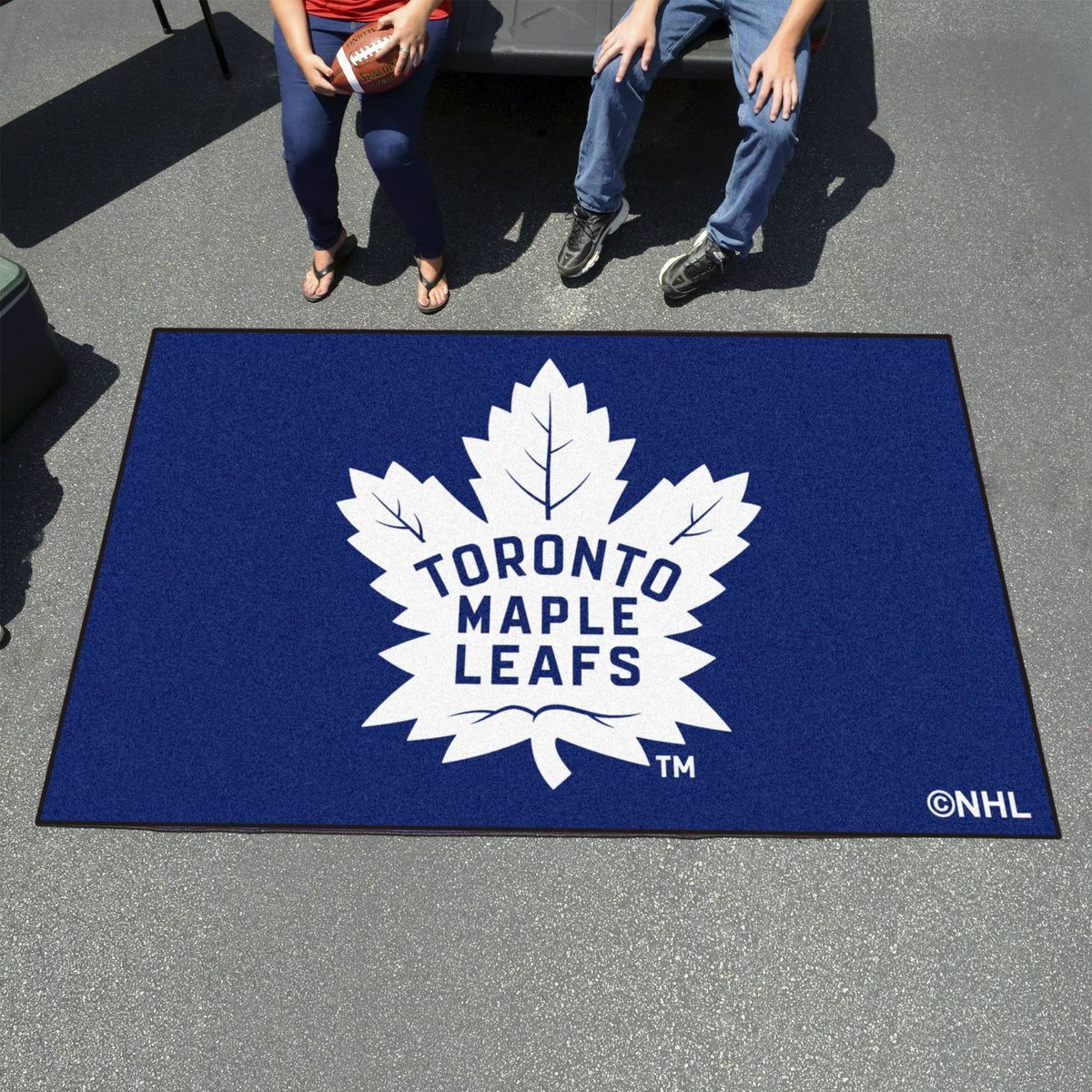 NHL - Ulti-Mat NHL Mats, Rectangular Mats, Ulti-Mat, NHL, Home Fan Mats Toronto Maple Leafs