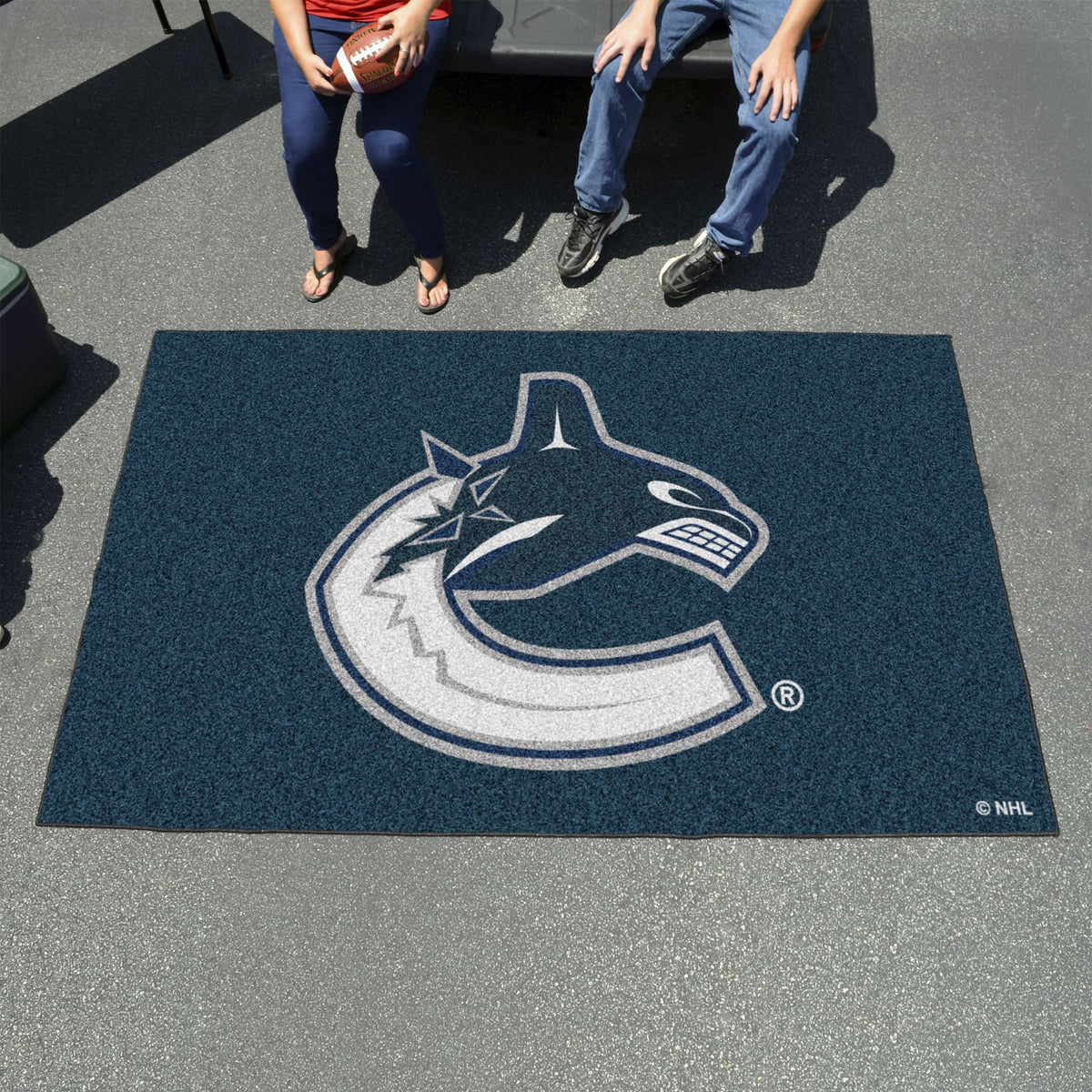 NHL - Ulti-Mat NHL Mats, Rectangular Mats, Ulti-Mat, NHL, Home Fan Mats Vancouver Canucks