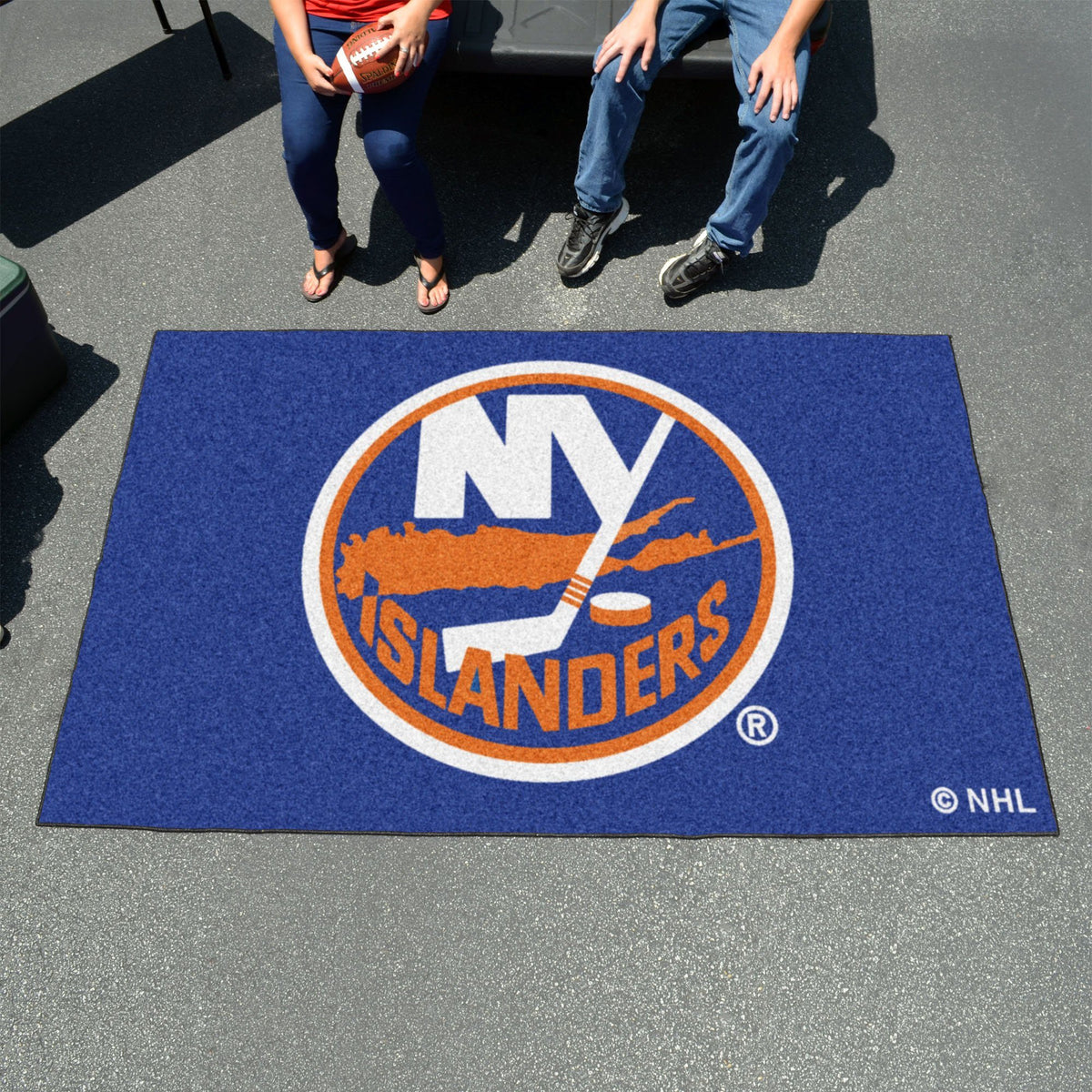 NHL - Ulti-Mat NHL Mats, Rectangular Mats, Ulti-Mat, NHL, Home Fan Mats New York Islanders